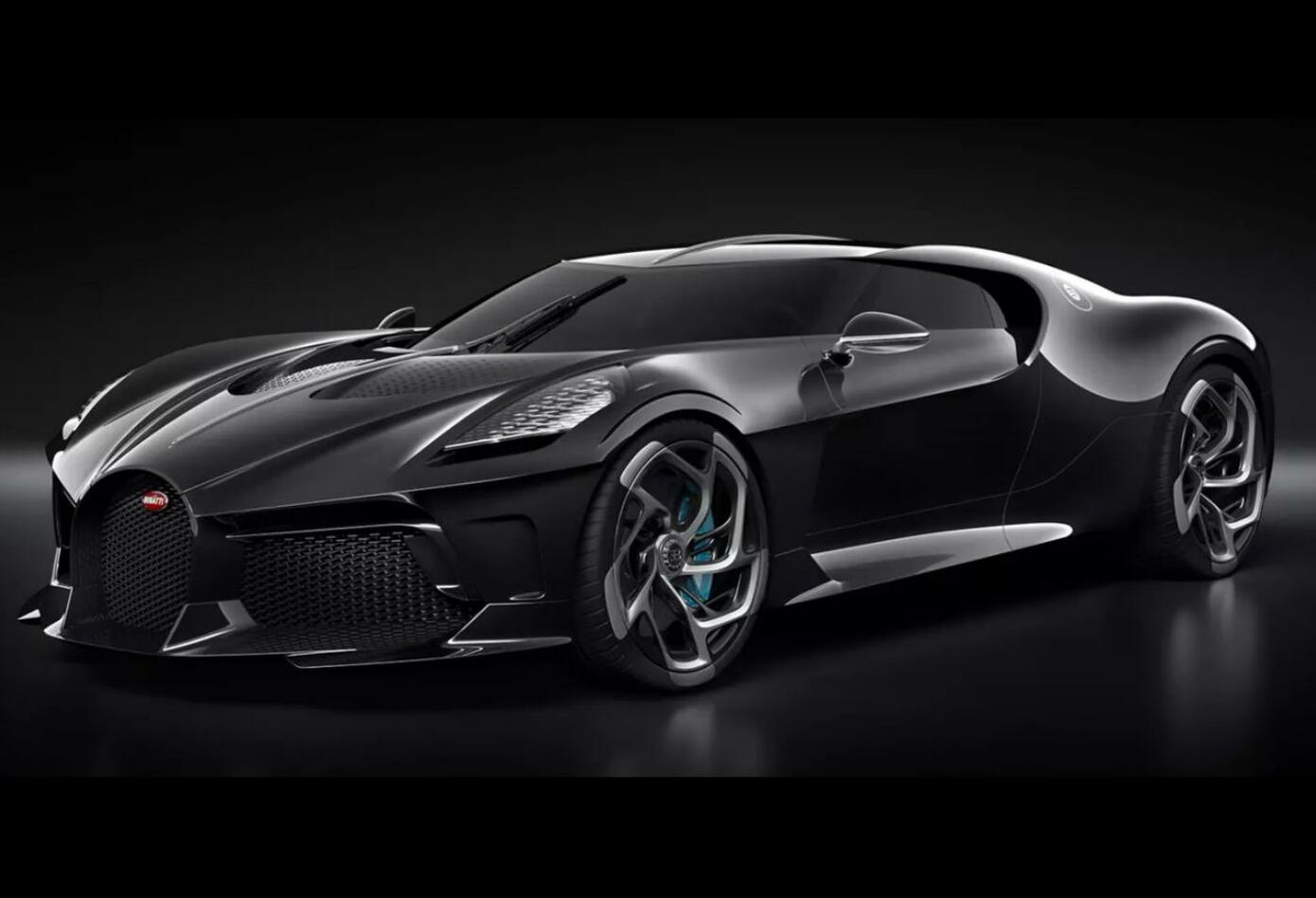 Bugatti La Voiture Noire, el carro deportivo más caro del mundo