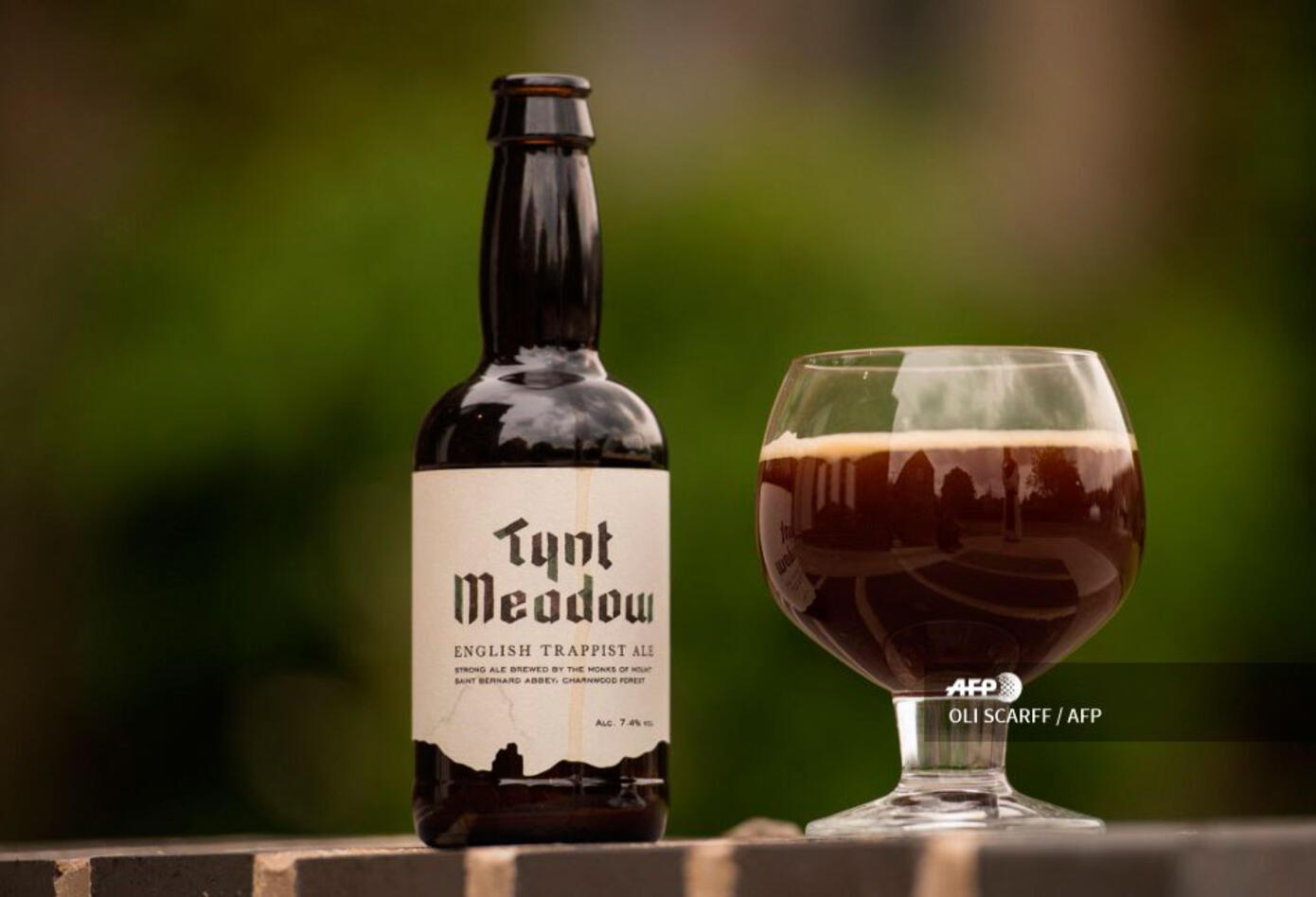 En los alrededores de la apacible abadía de Monte San Bernardo, en el centro de Inglaterra, los monjes se han 'convertido' a la cerveza artesanal.