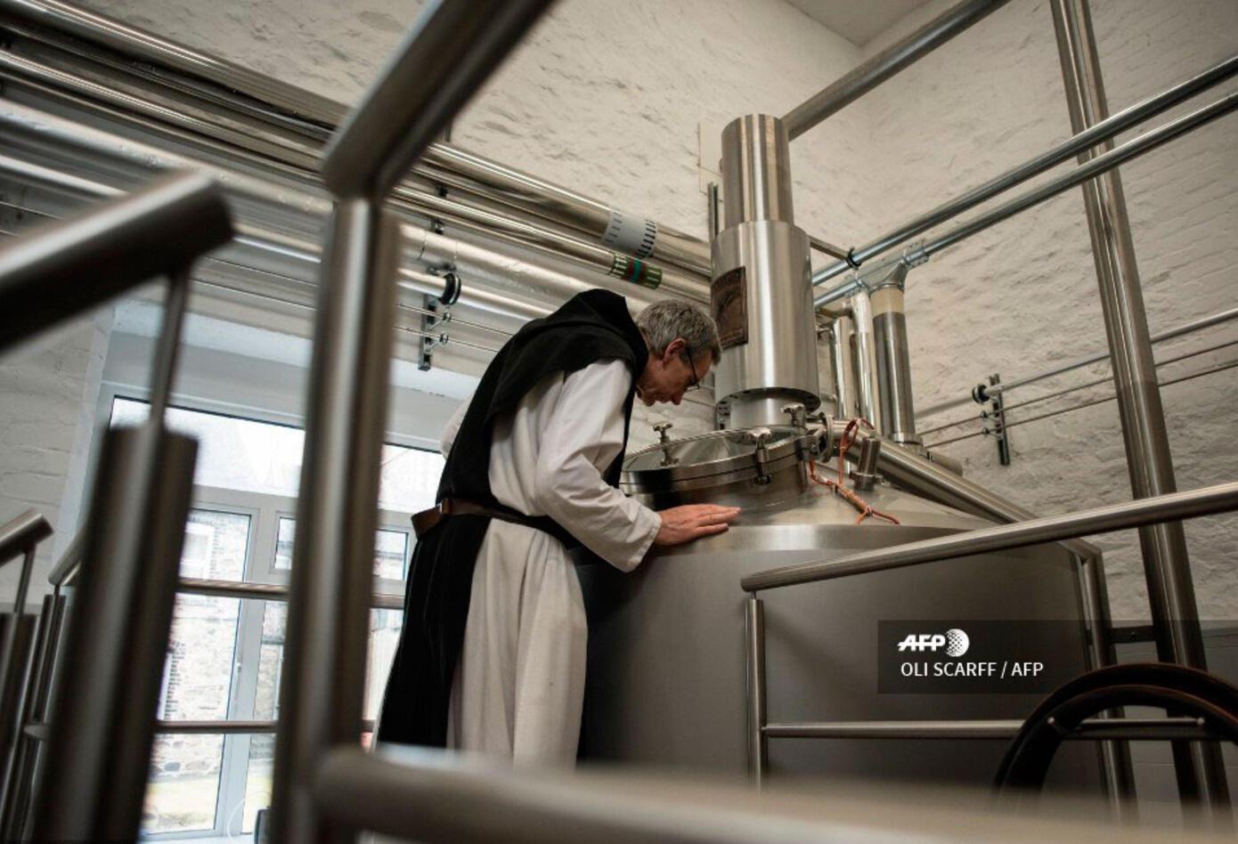 Los monjes vendieron sus vacas y se demoraron cinco años en dotarse de una fábrica de cerveza.