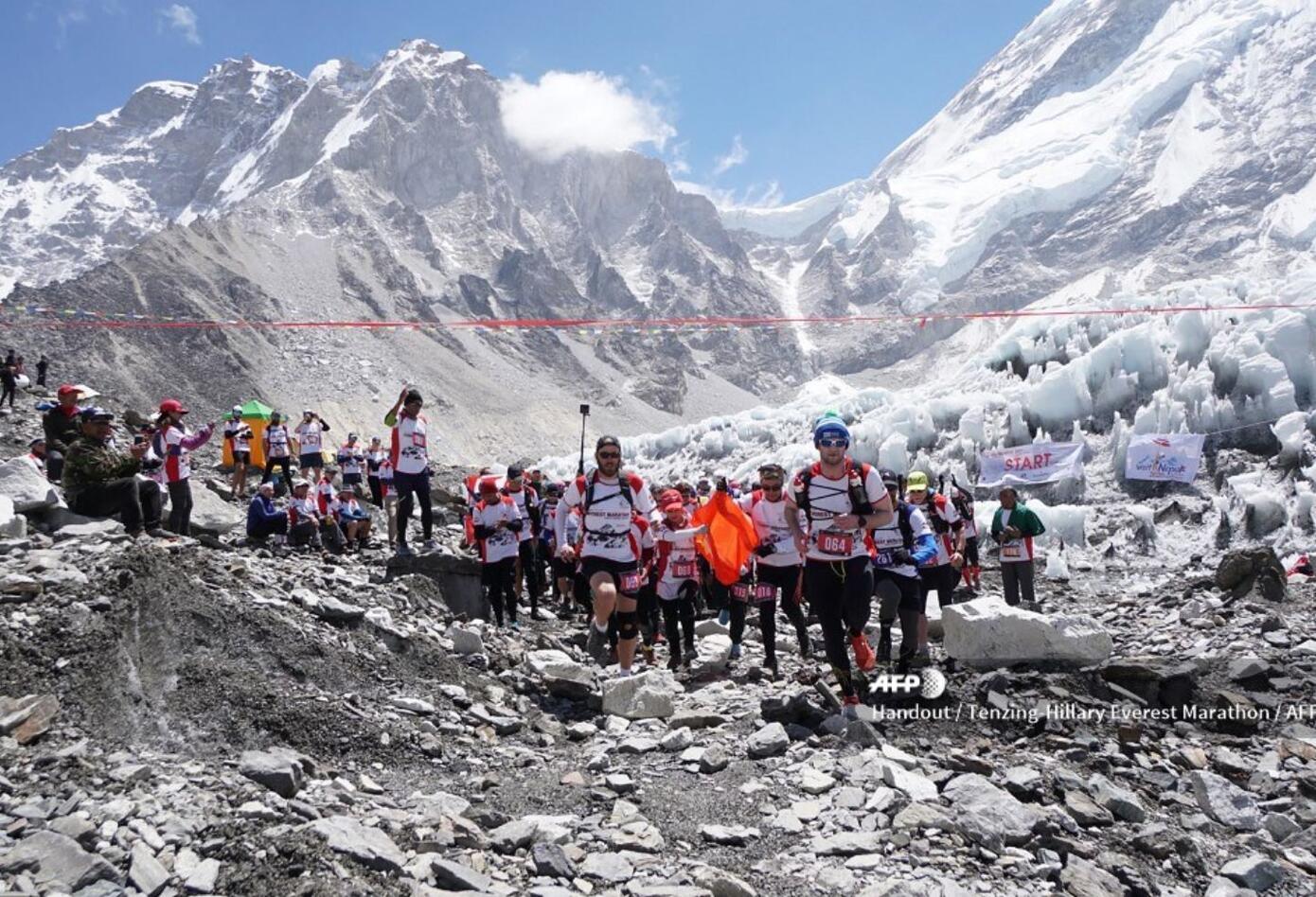 El Everest es la montaña más alta del planeta.