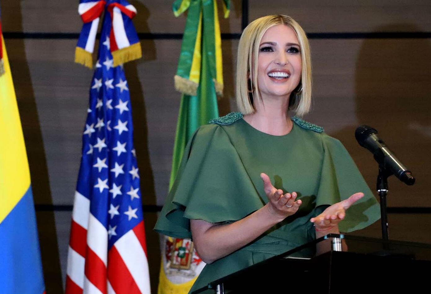 Ivanka Trump en Colombia