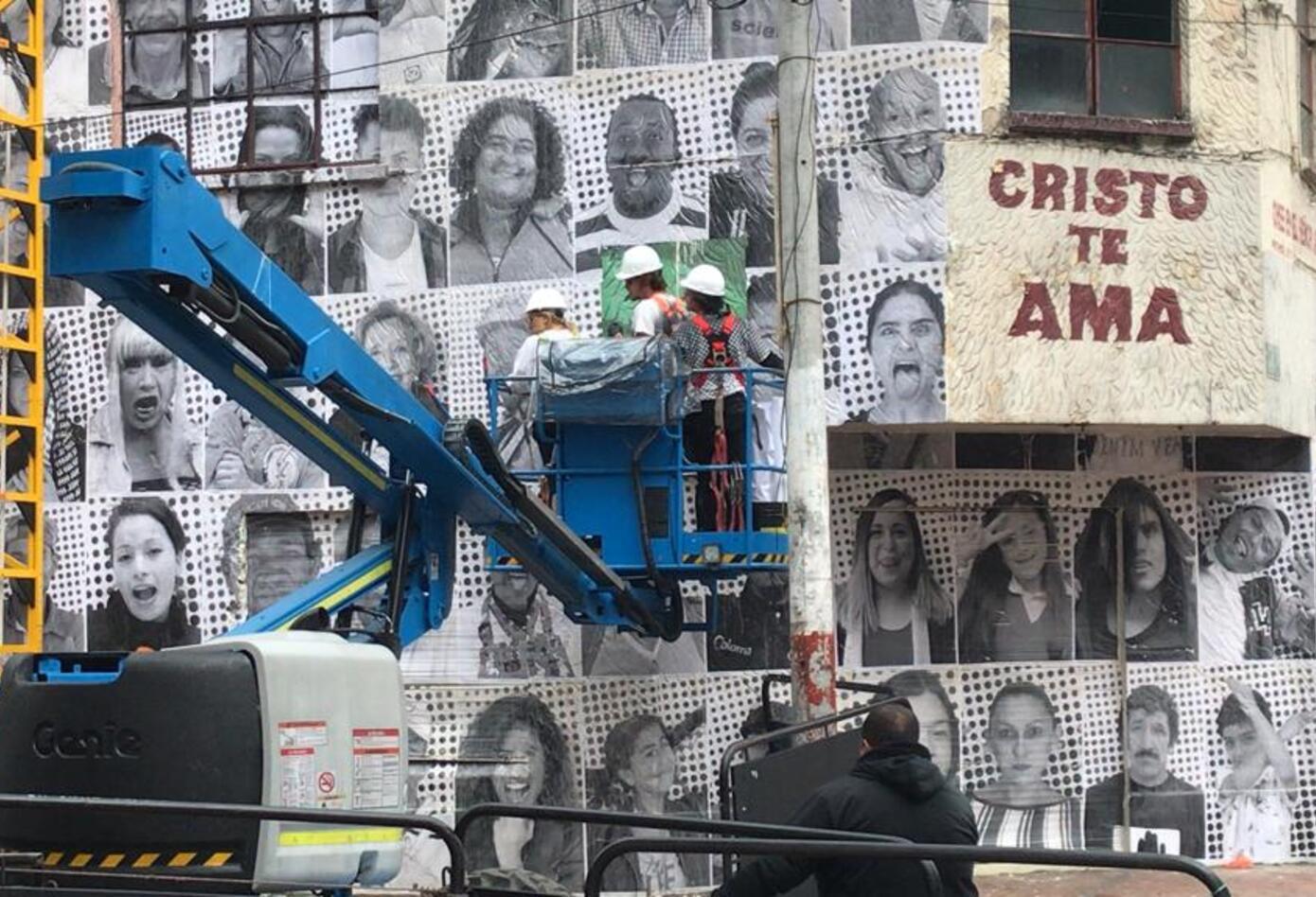 Exposición de arte en el Bronx