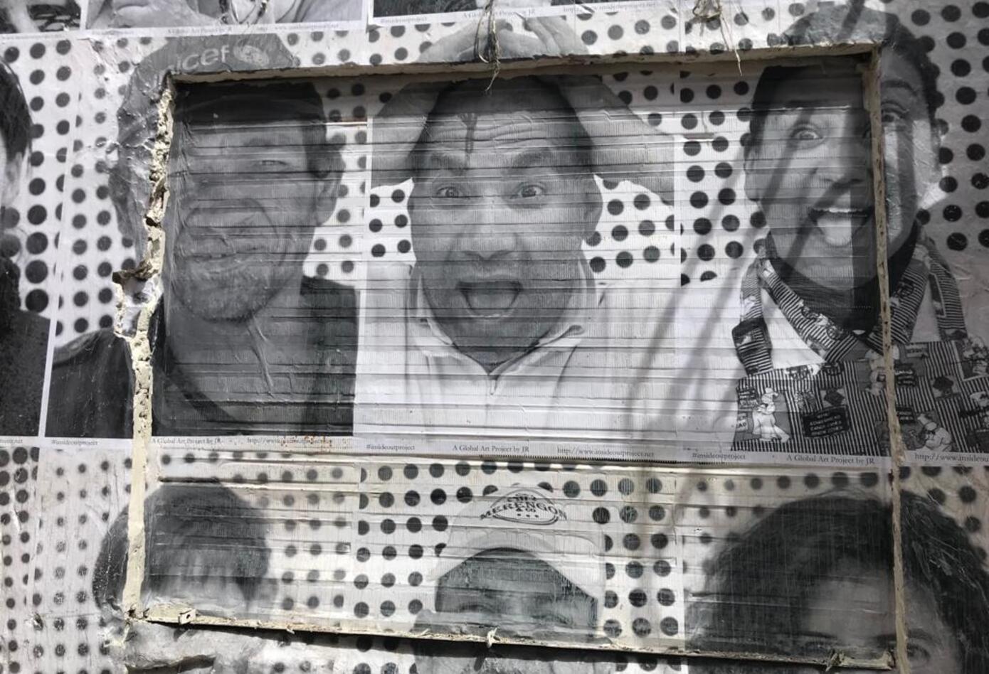 Cientos de rostros hacen parte de la exposición