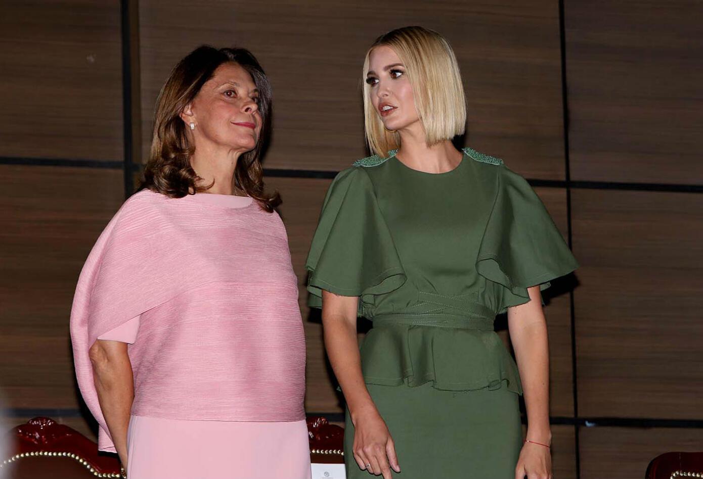 Marta Lucía Ramírez e Ivanka Trump