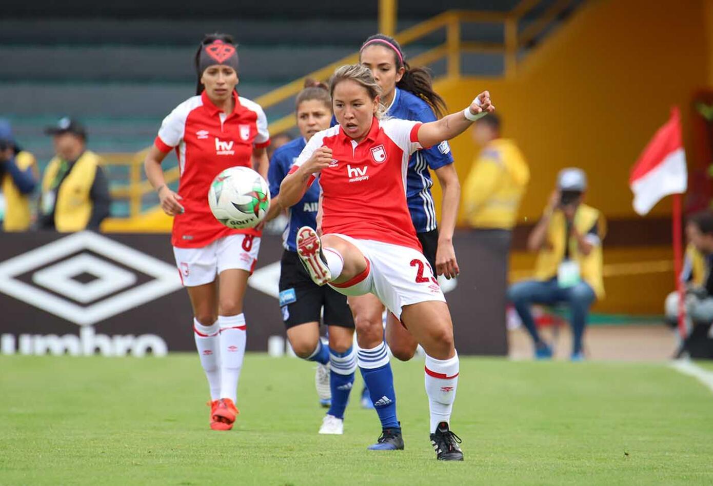 Millonarios Vs Santa Fe, Liga Águila Femenina