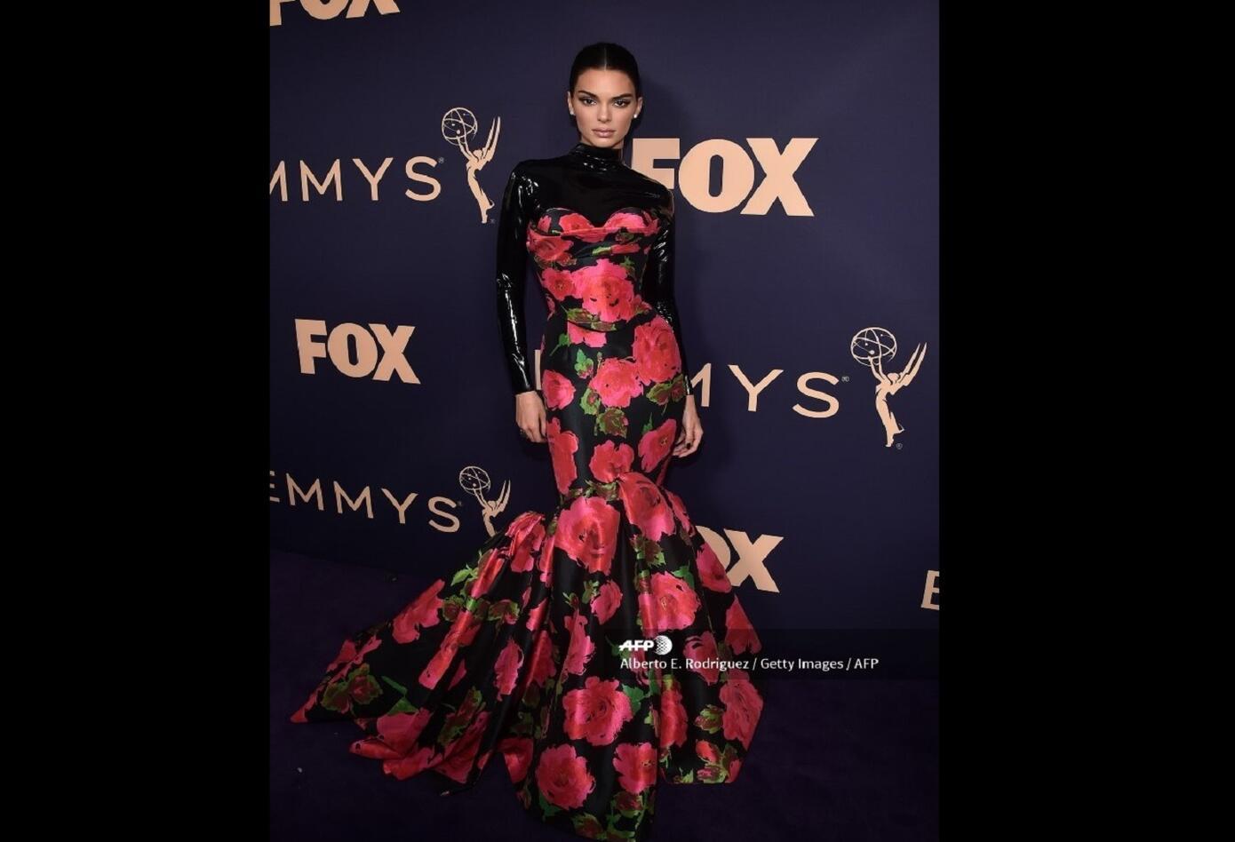 Kendall Jenner en los premios Emmy