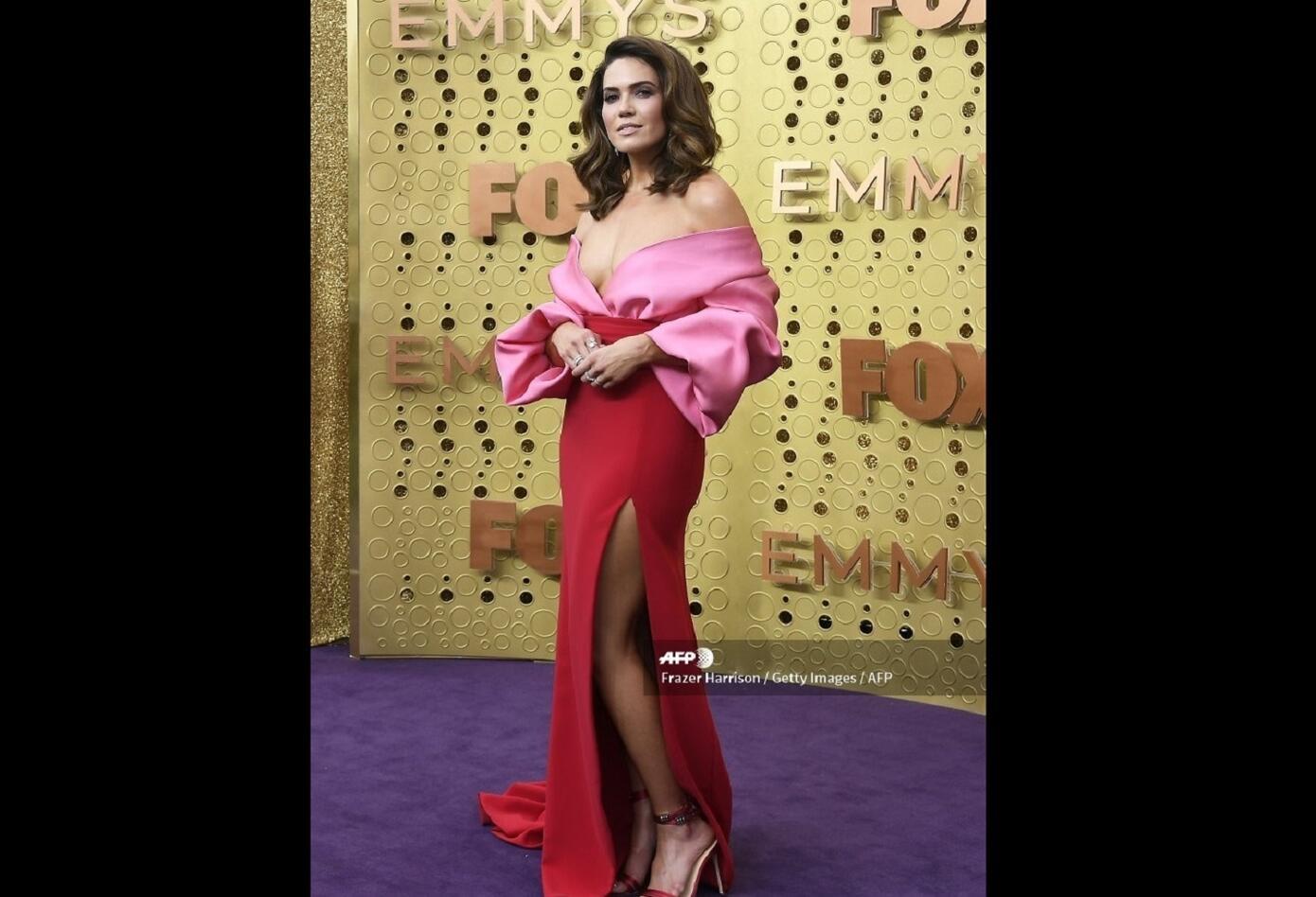 Mandy Moore en los premios Emmy