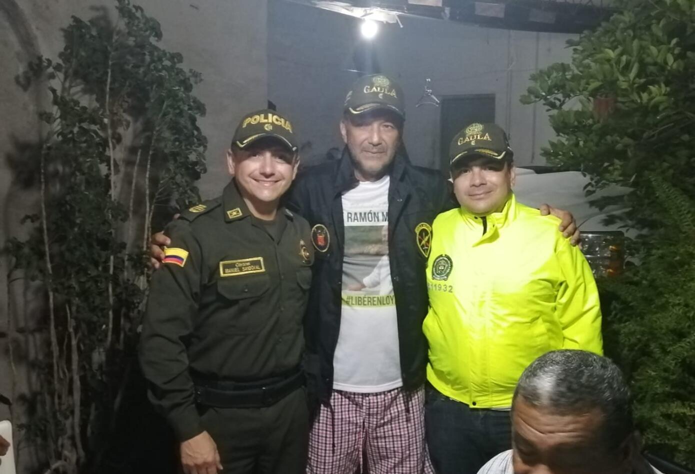 José Ramón Molina, se reunió con el comandante de Policía en La Guajira