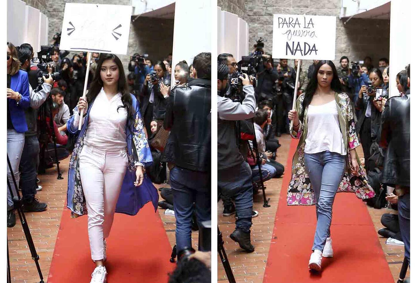 PAZarela, desfile de modas hecho por excombatientes de las Farc