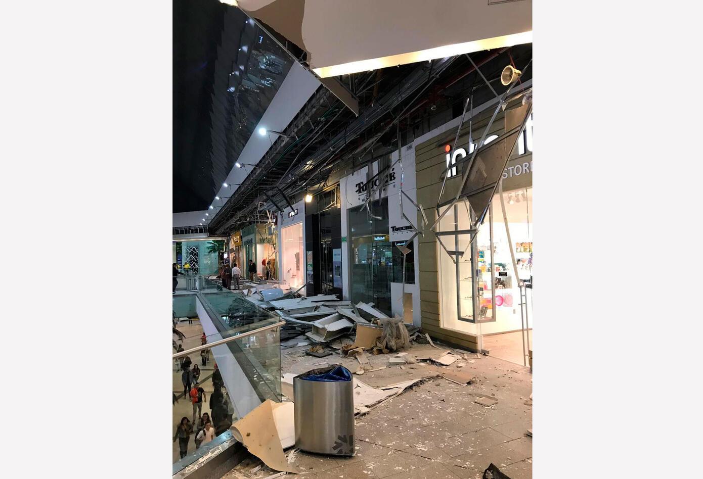 Nuevas imágenes de emergencia en Unicentro por caída de techo
