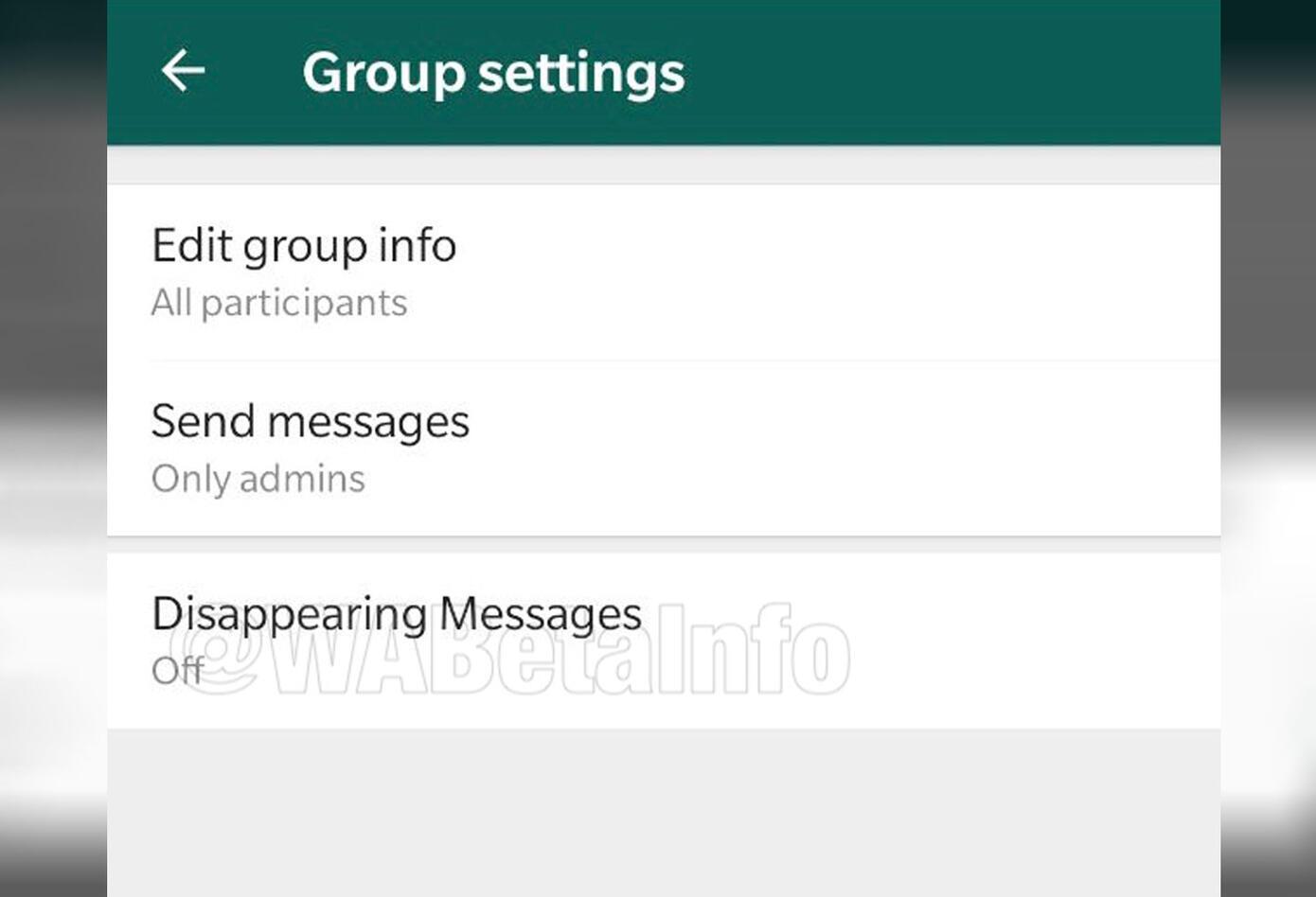 Captura de pantalla nueva función WhatsApp