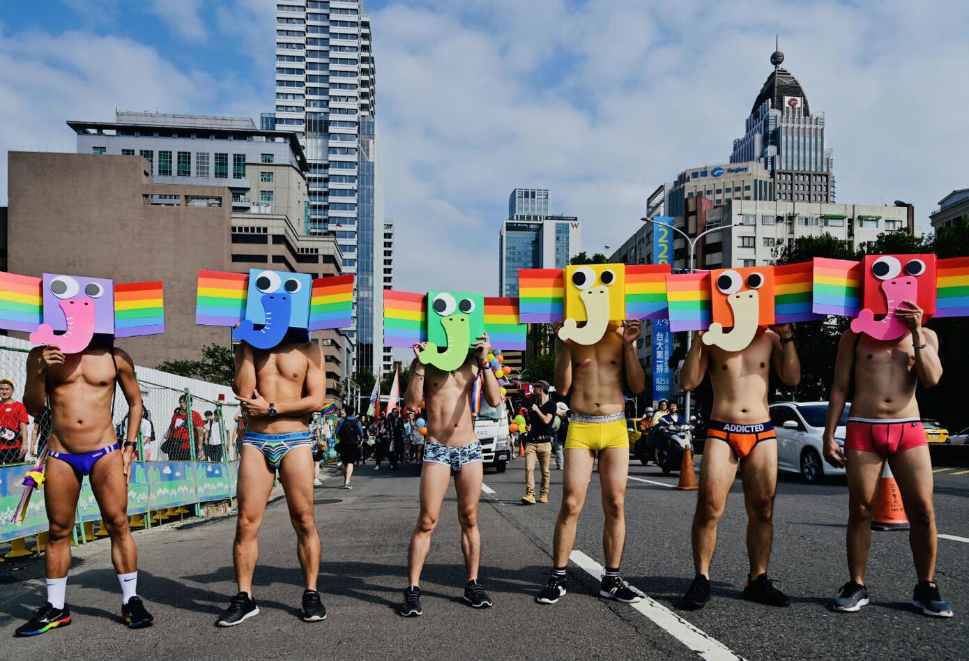 Marchas gay en Taiwán