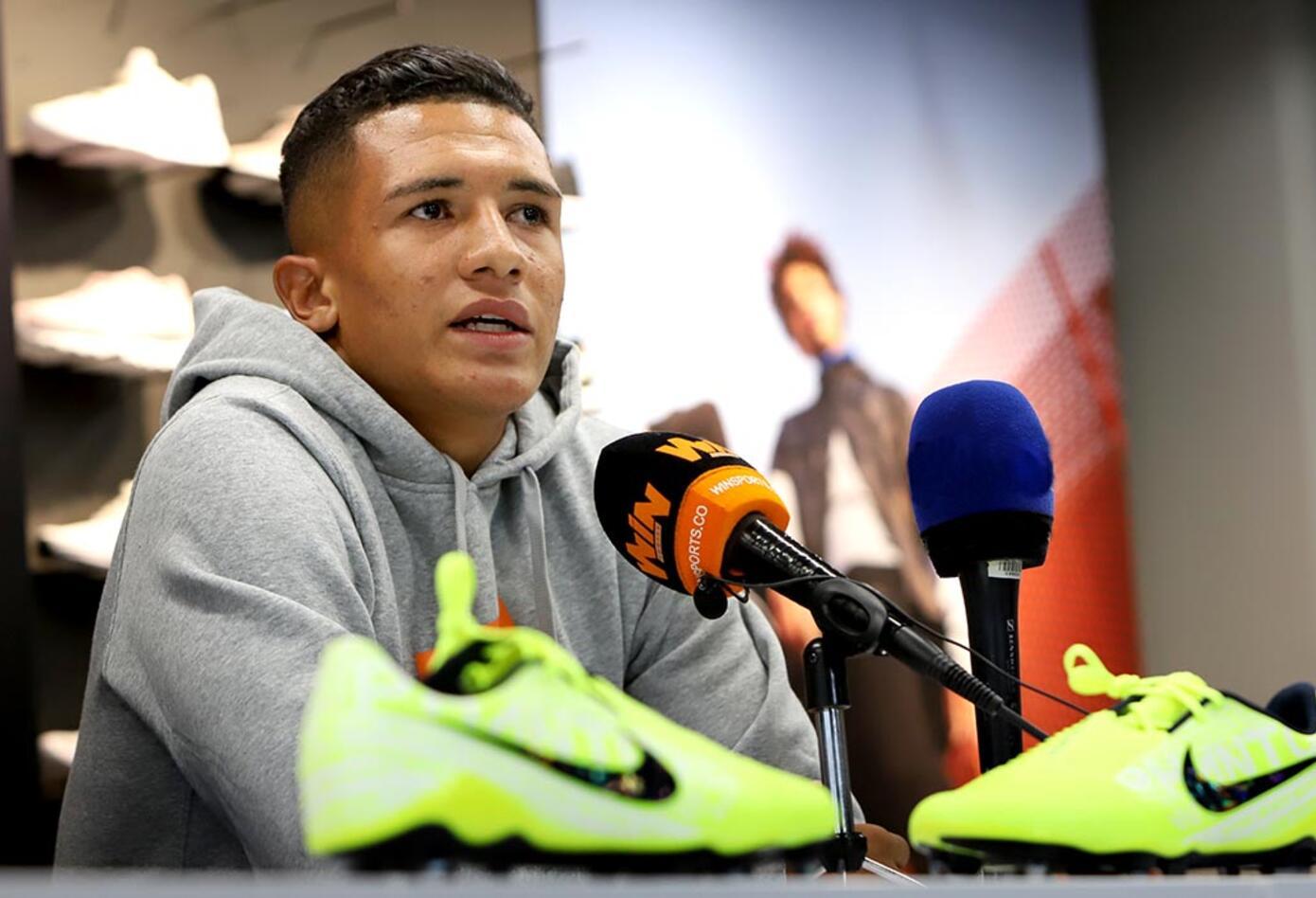 Juan Diego Alegría, atleta de Nike, RCN