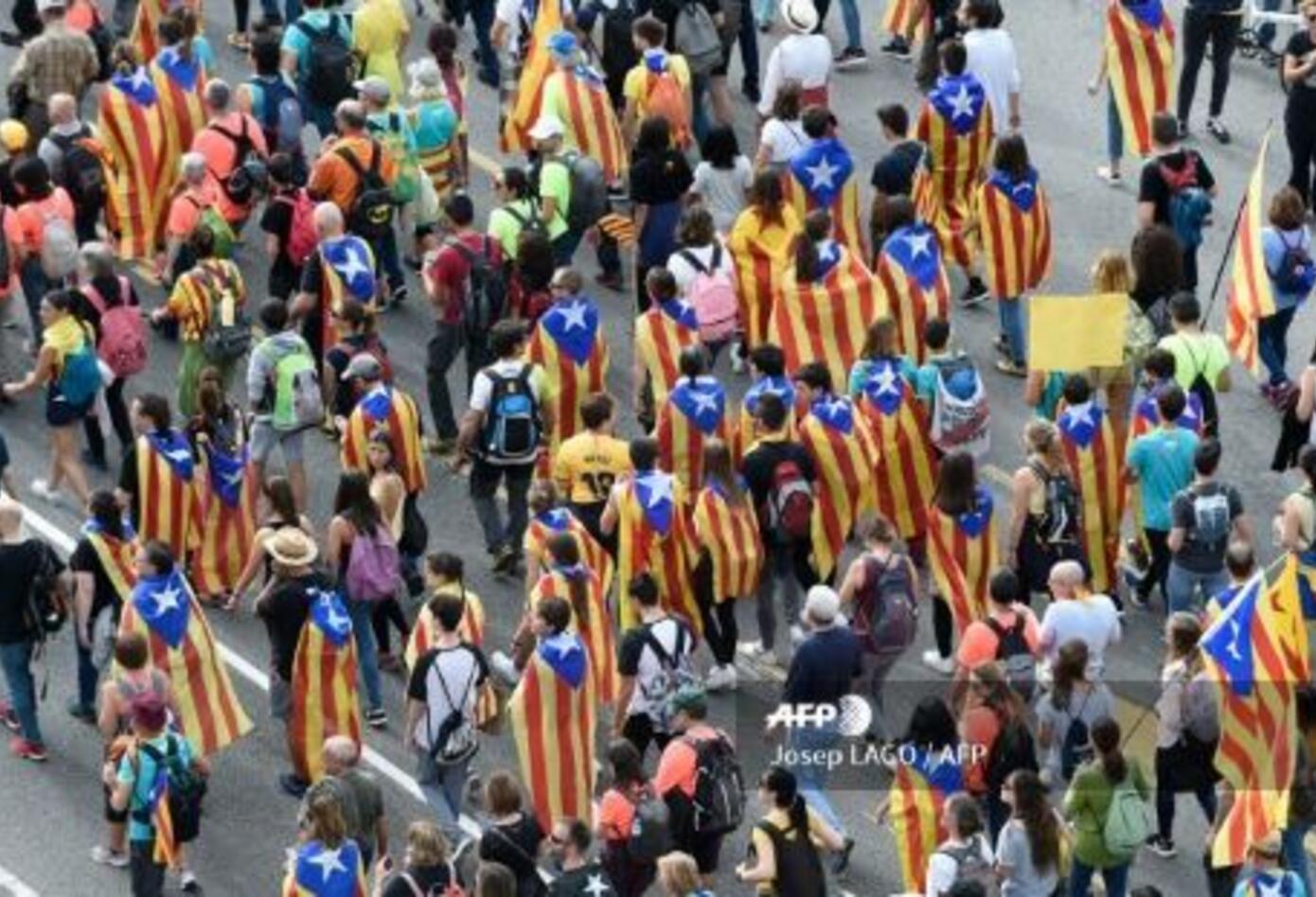 Manifestaciones en Barcelona