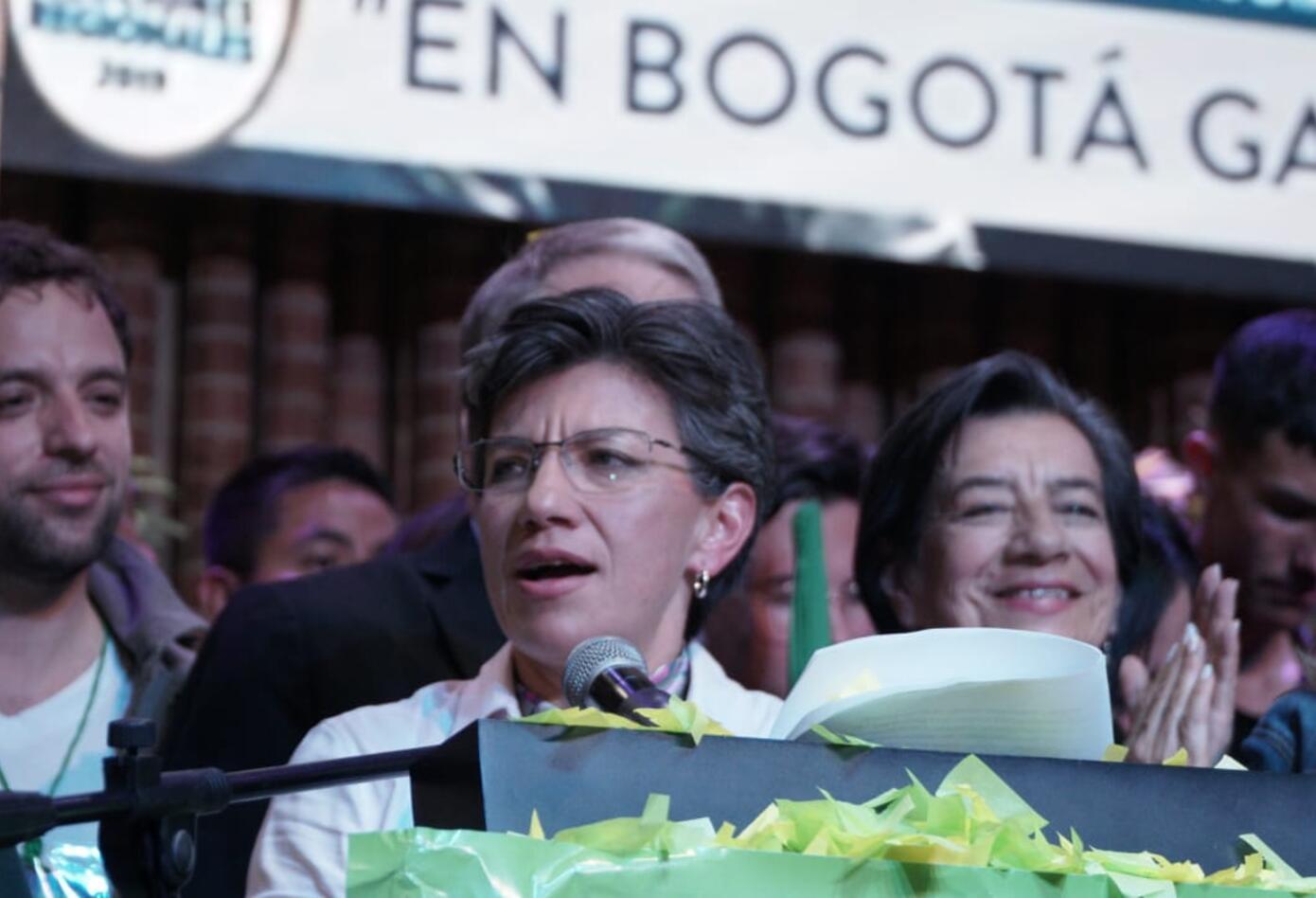 Claudia López, alcaldesa electa de Bogotá