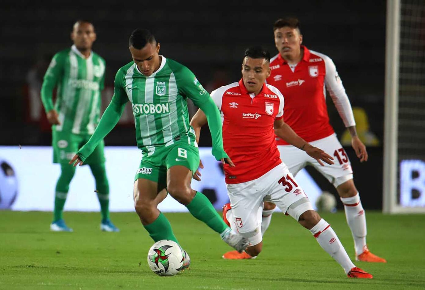 Santa Fe vs Nacional Liga Águila II primer paquete