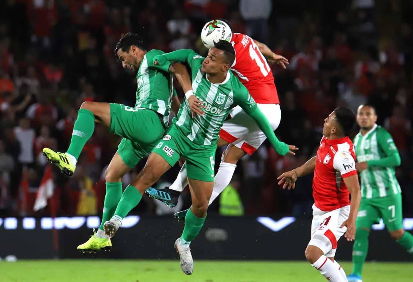Santa Fe vs Nacional Liga Águila II segundo paquete