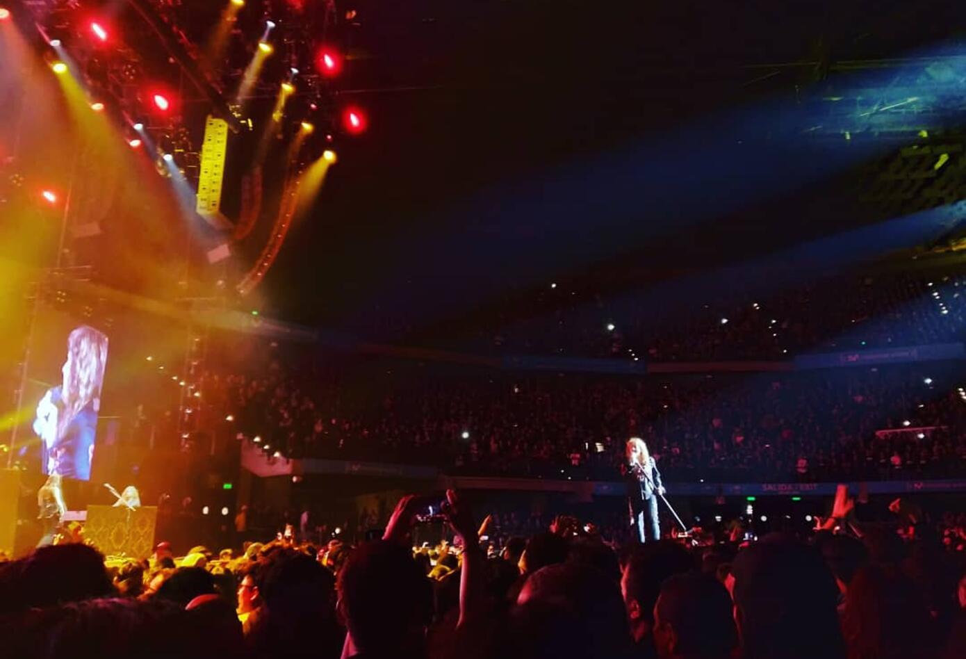 Scorpions y Whitesnake en Bogotá (Movistar Arena; 10 de octubre de 2019)
