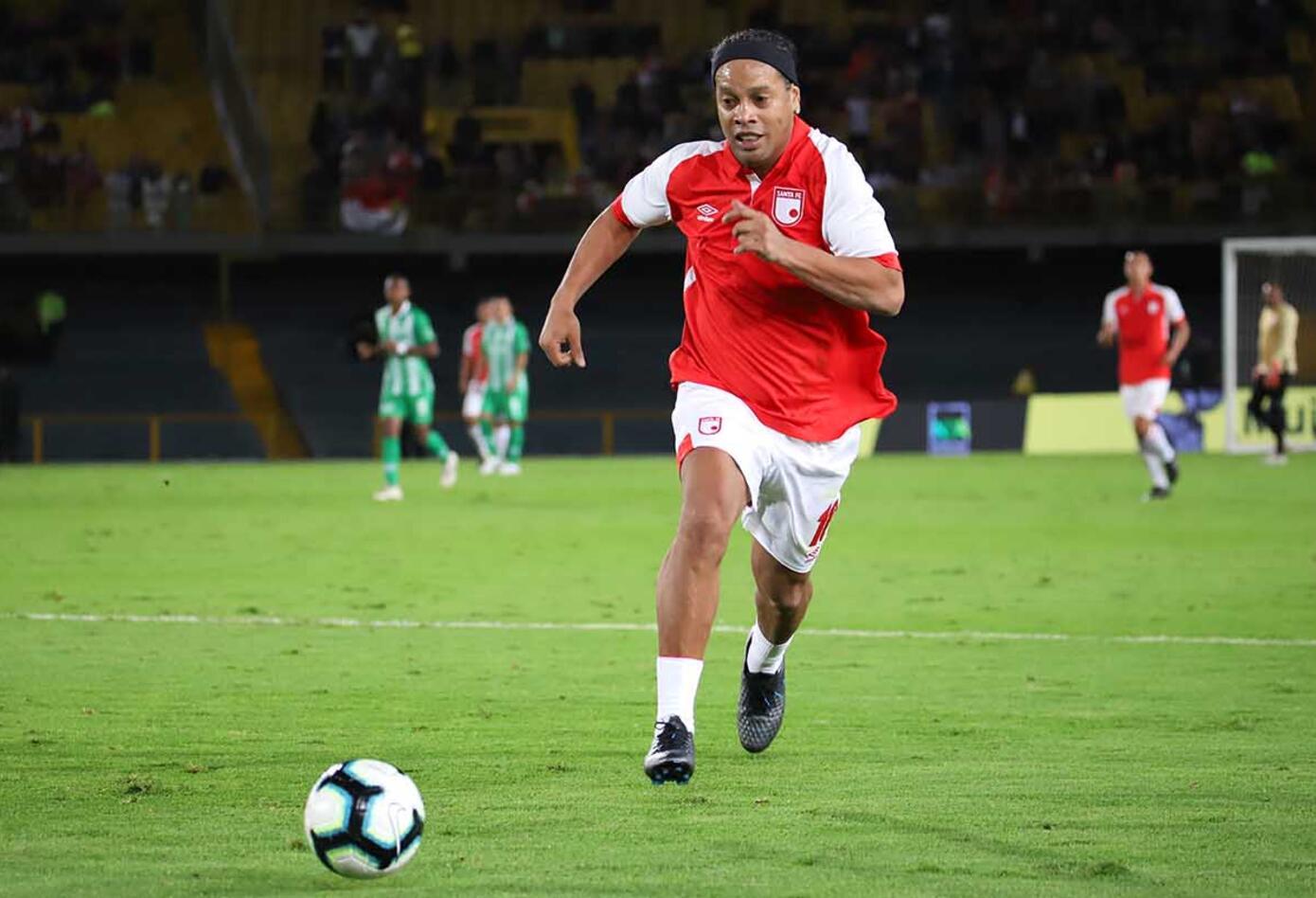 Ronaldinho en Colombia
