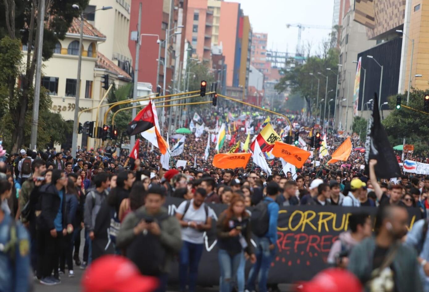 Marcha de estudiantes