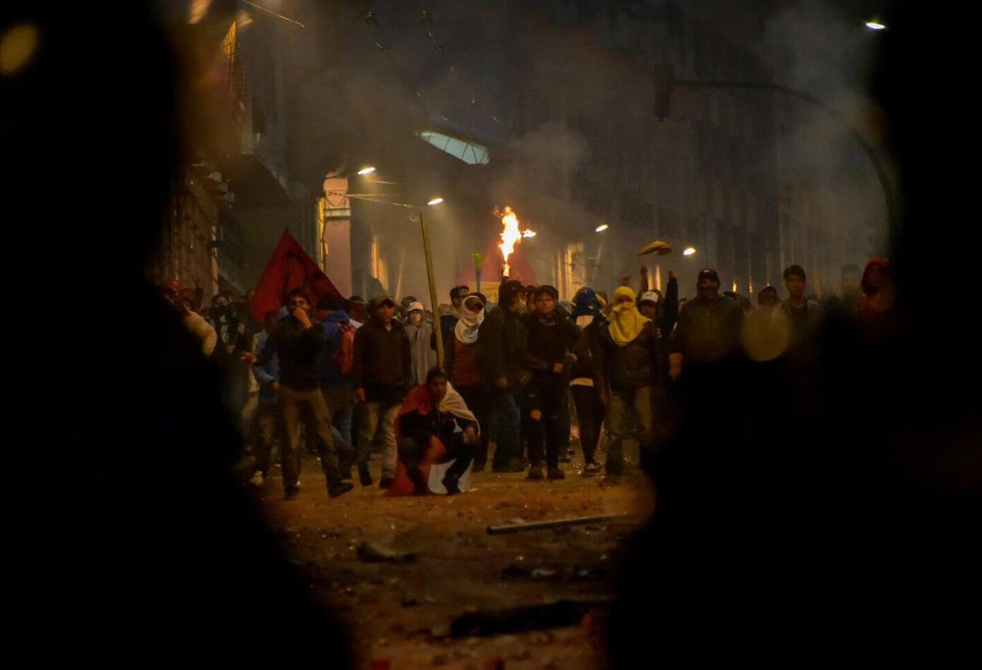 Protestas en Ecuador, 3 de octubre de 2019