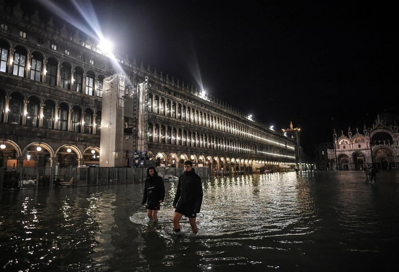 Inundaciones en Venecia, Italia