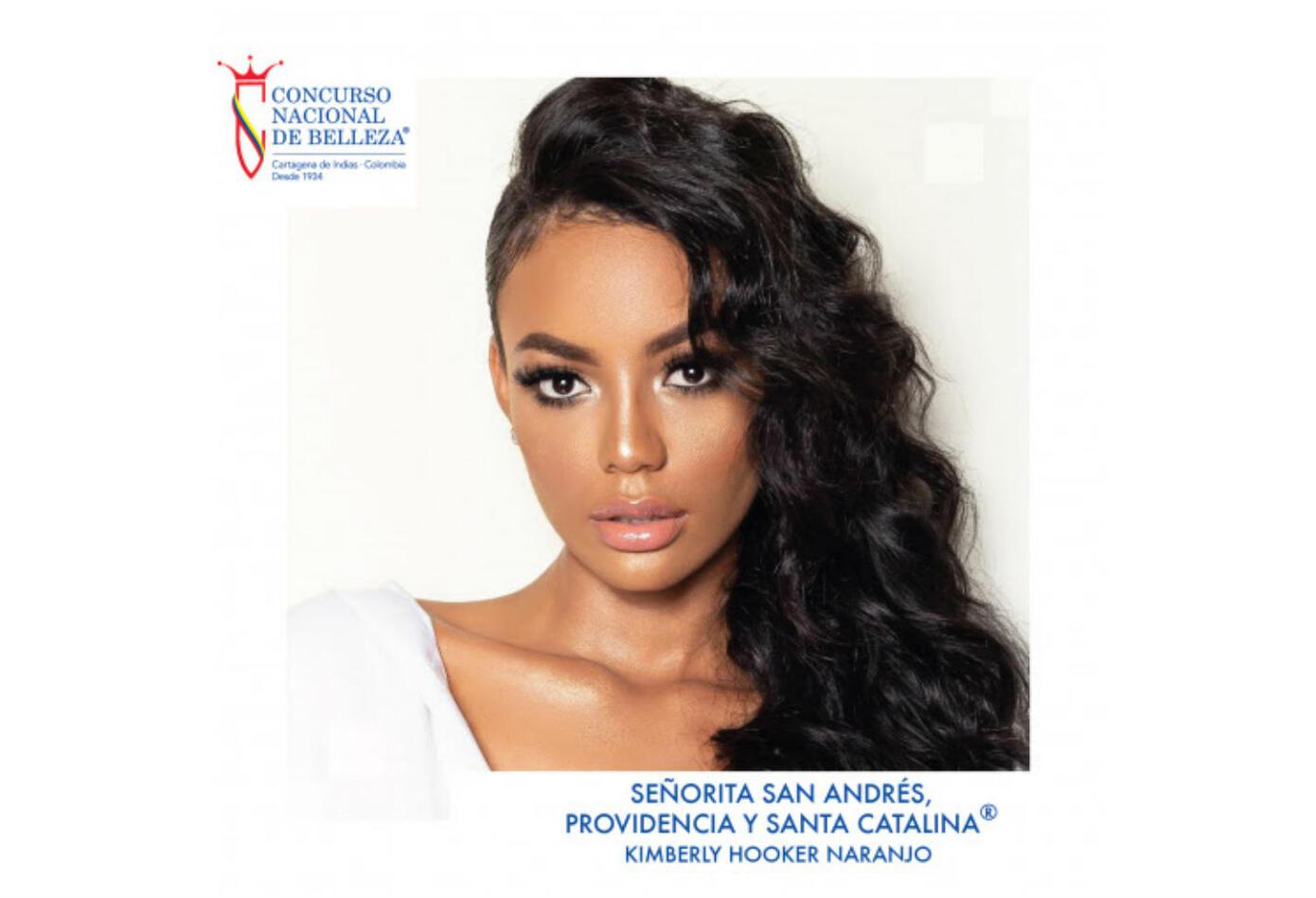 Kimberly Hooker, señorita San Andrés 2019