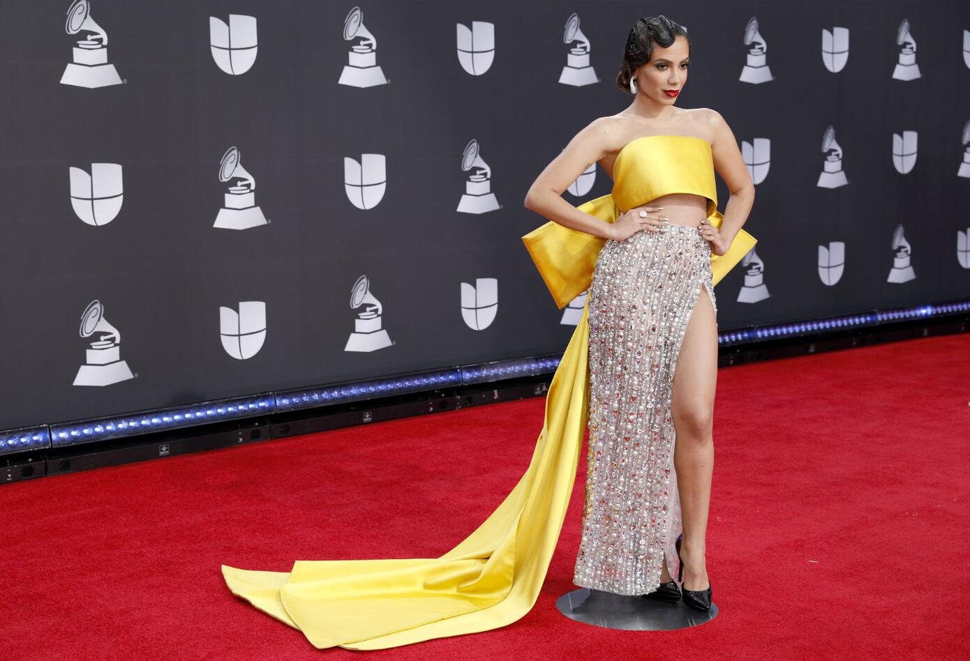 Anitta en los Grammy Latinos 2019