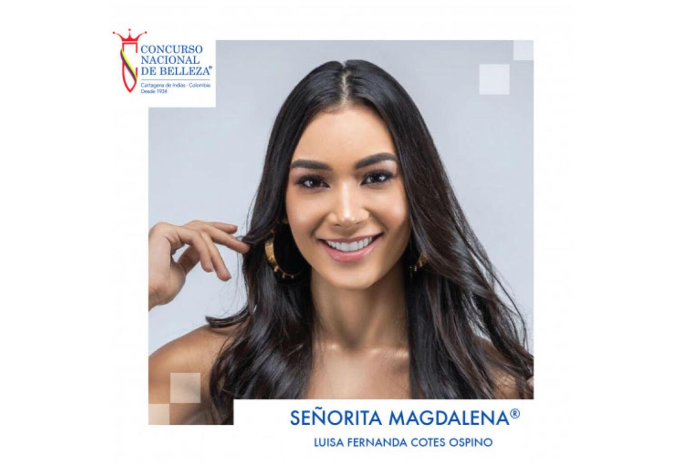 Luisa Fernanda Cotes, Señorita Magdalena 2019.