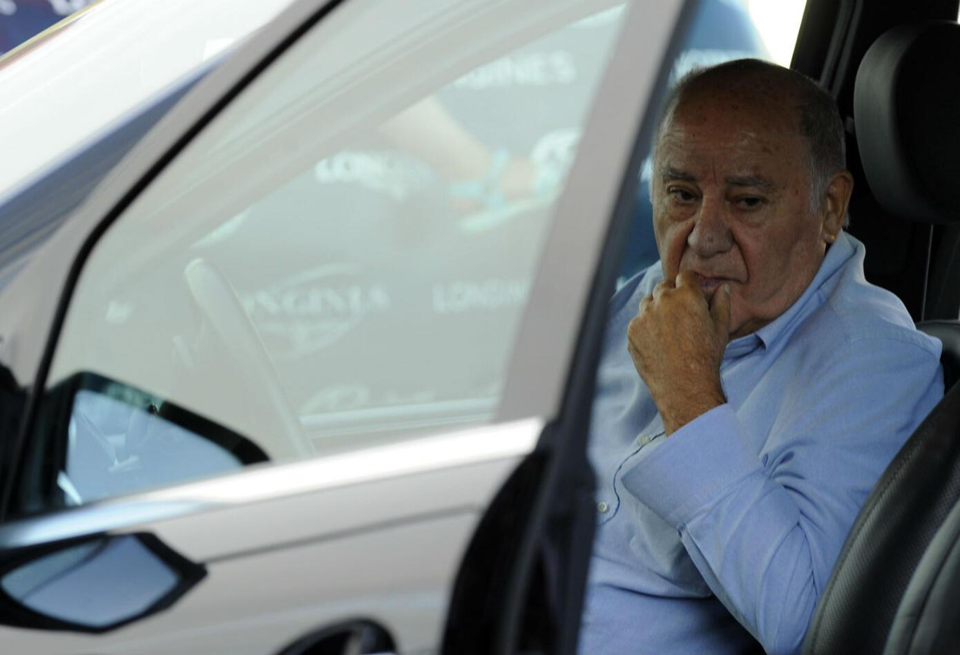 Amancio Ortega, dueño de Zara