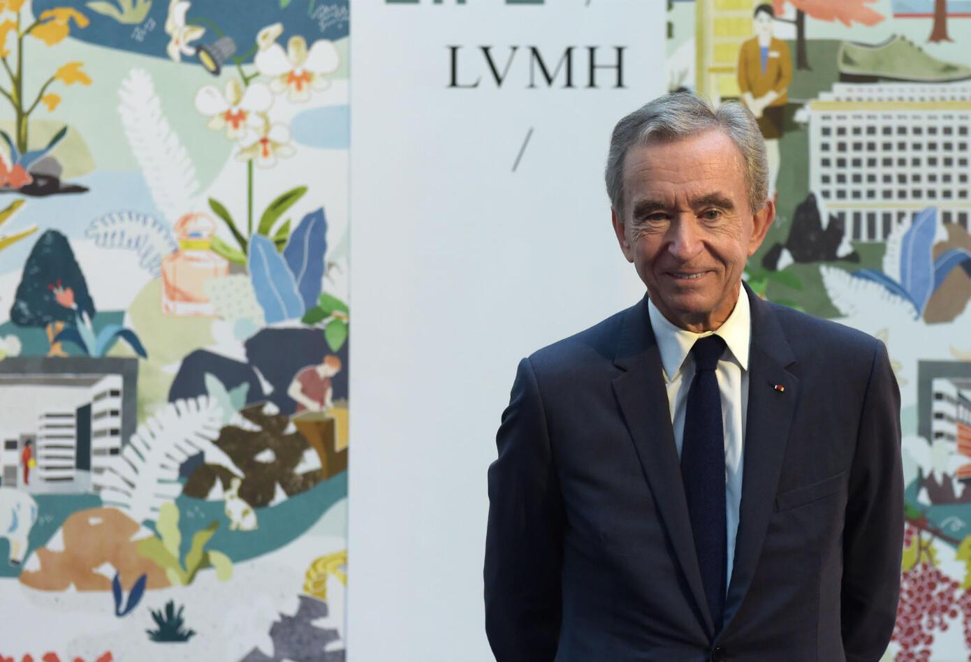 Bernard Arnault, dueño de Louis Vuitton
