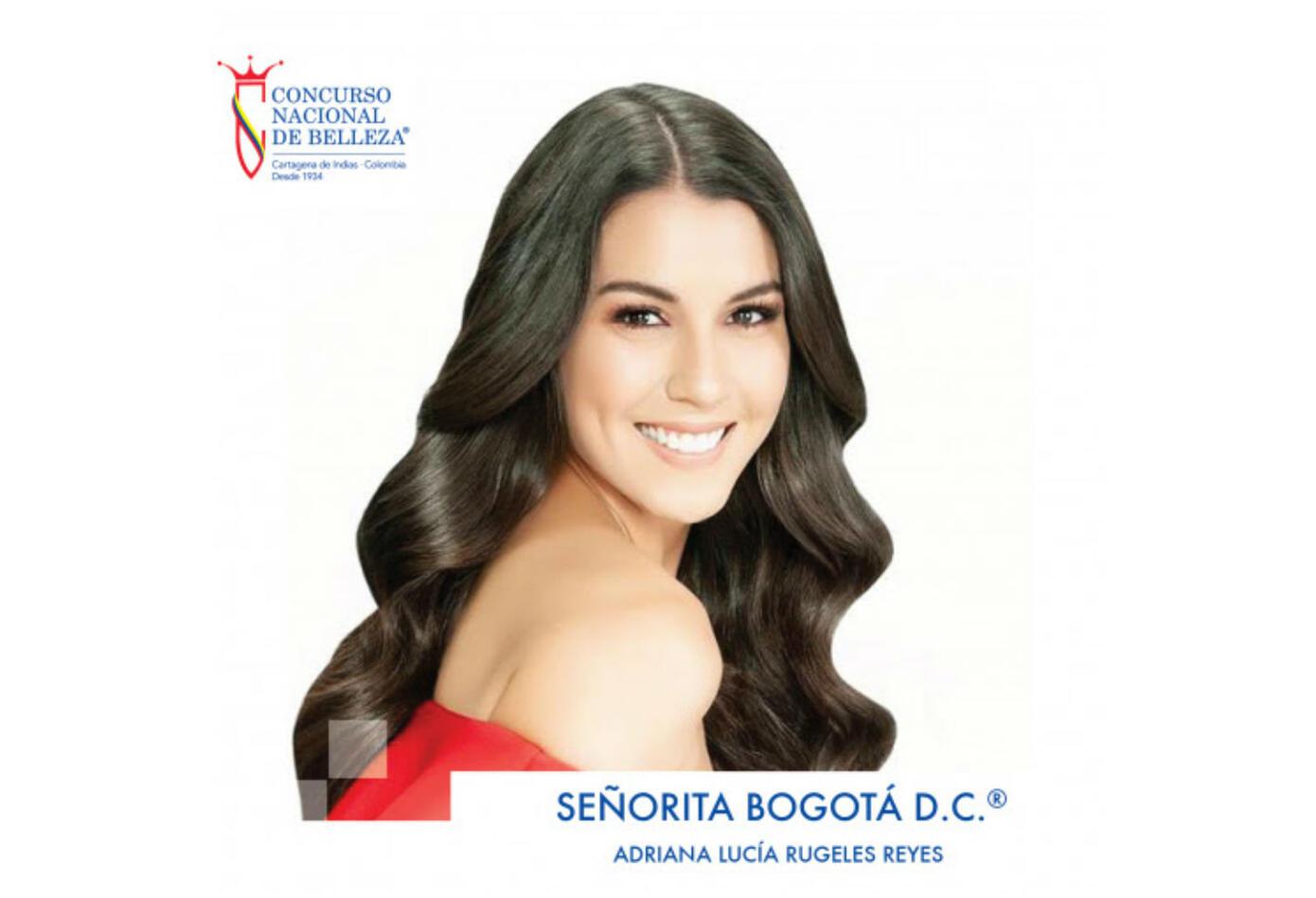 Adriana Lucía Rugeles, señorita Bogotá 2019