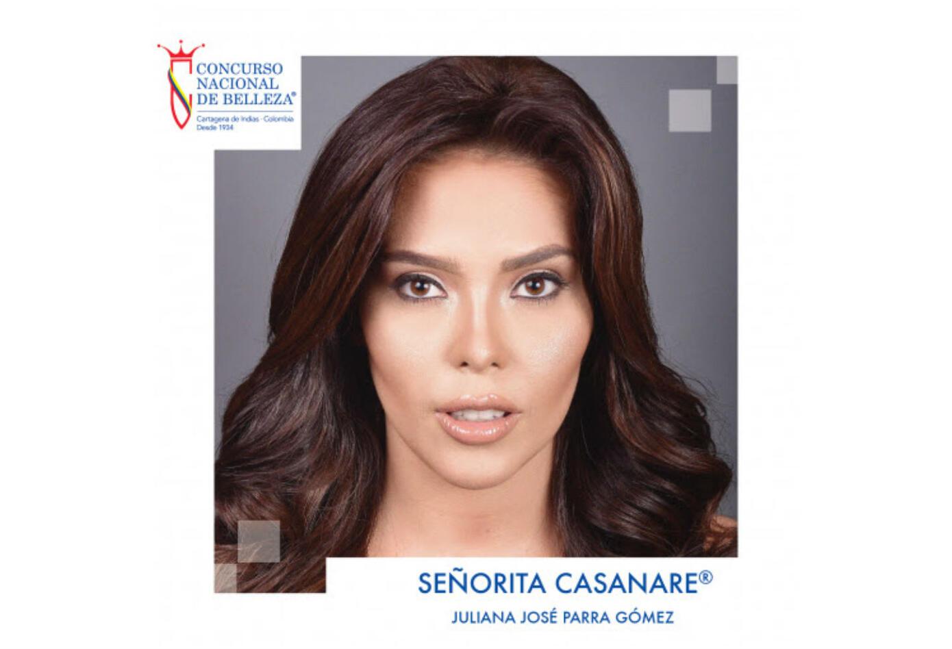 Juliana José Parra, señorita Casanare 2019