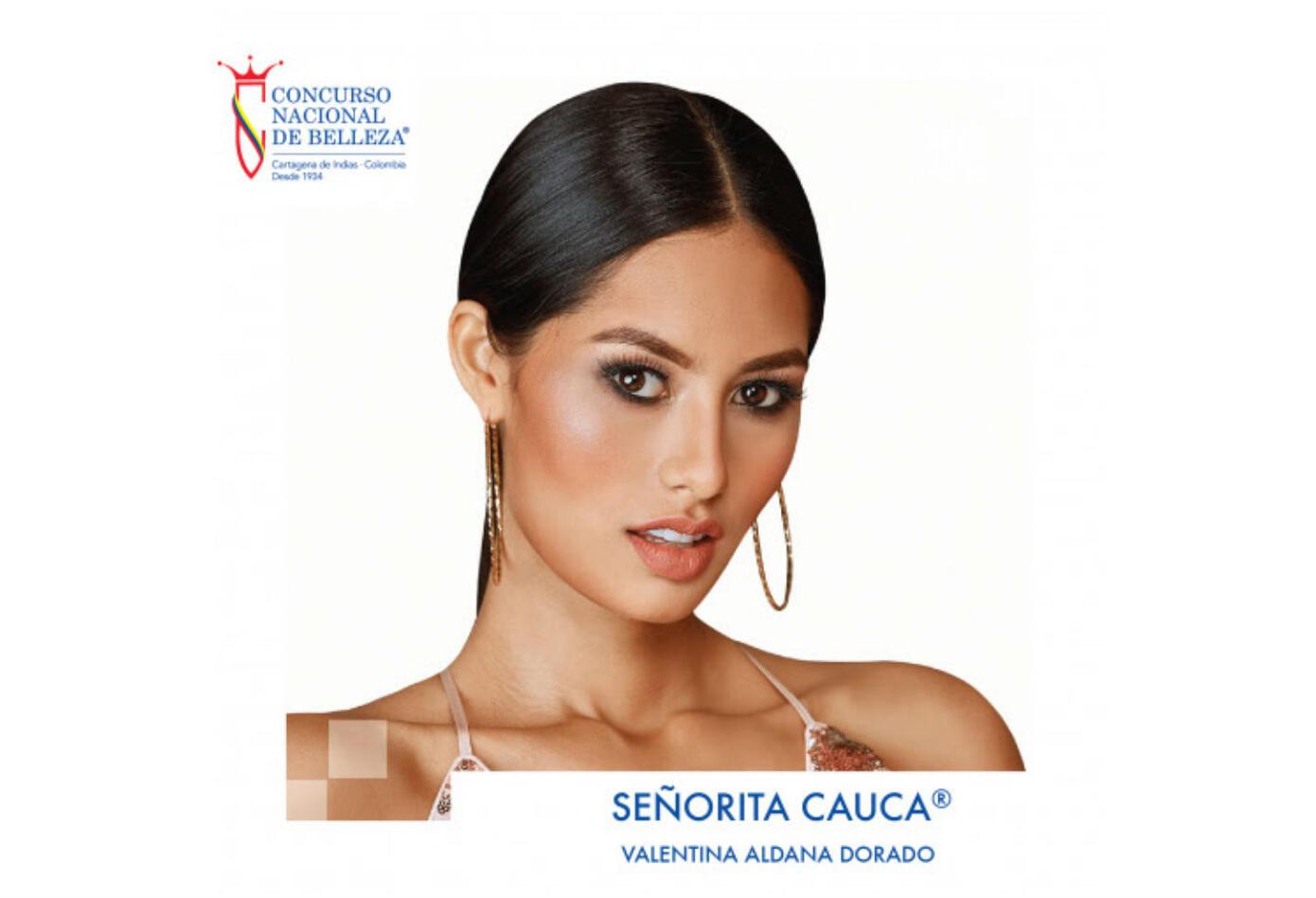 Valentina Aldana, Señorita Cauca 2019