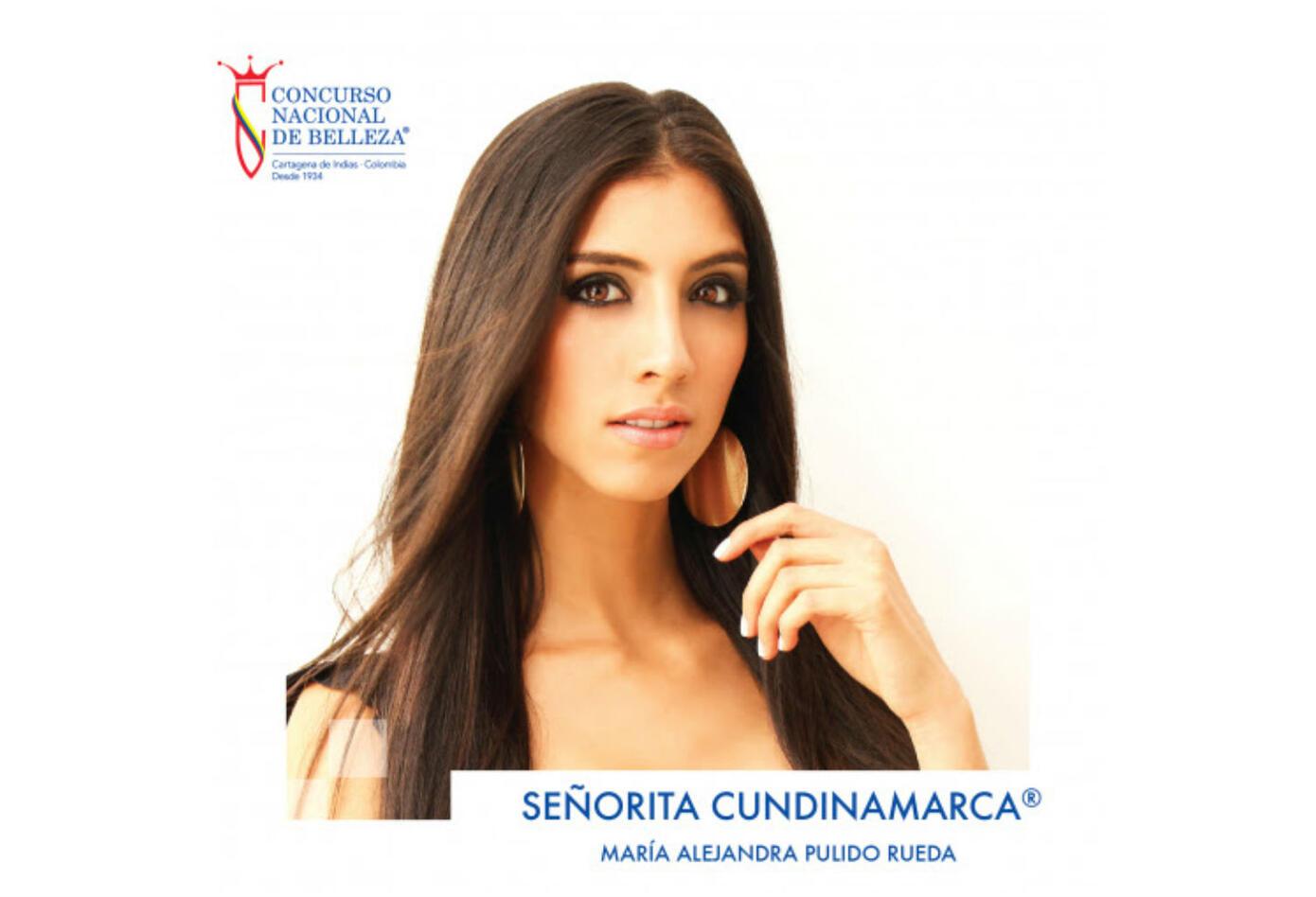 María Alejandra Pulido, señorita Cundinamarca 2019