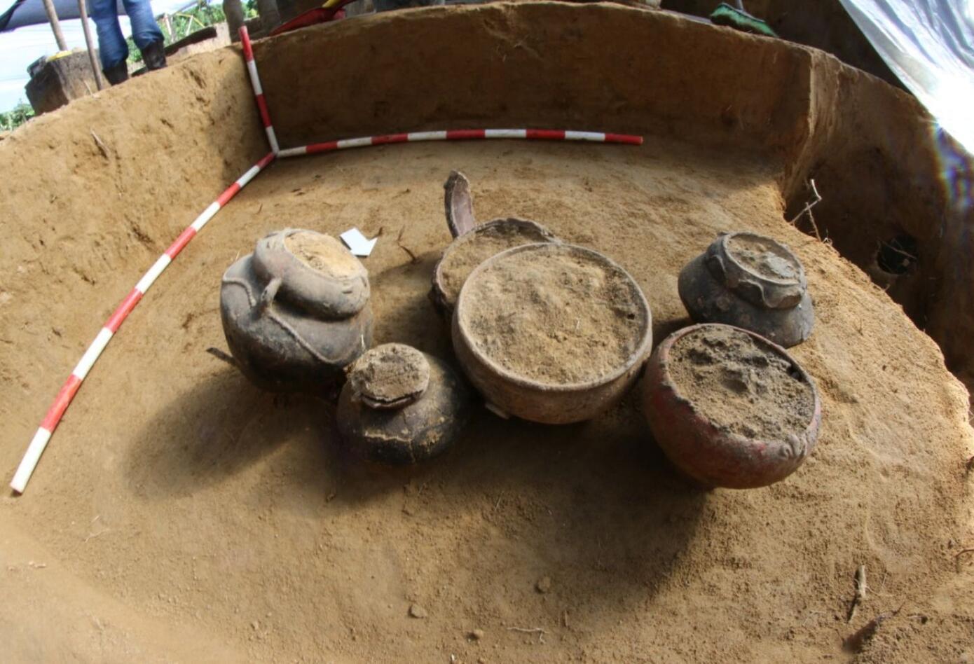 Descubriendo 3.000 años de historia, Arqueología en el gasoducto loop Armenia (1)