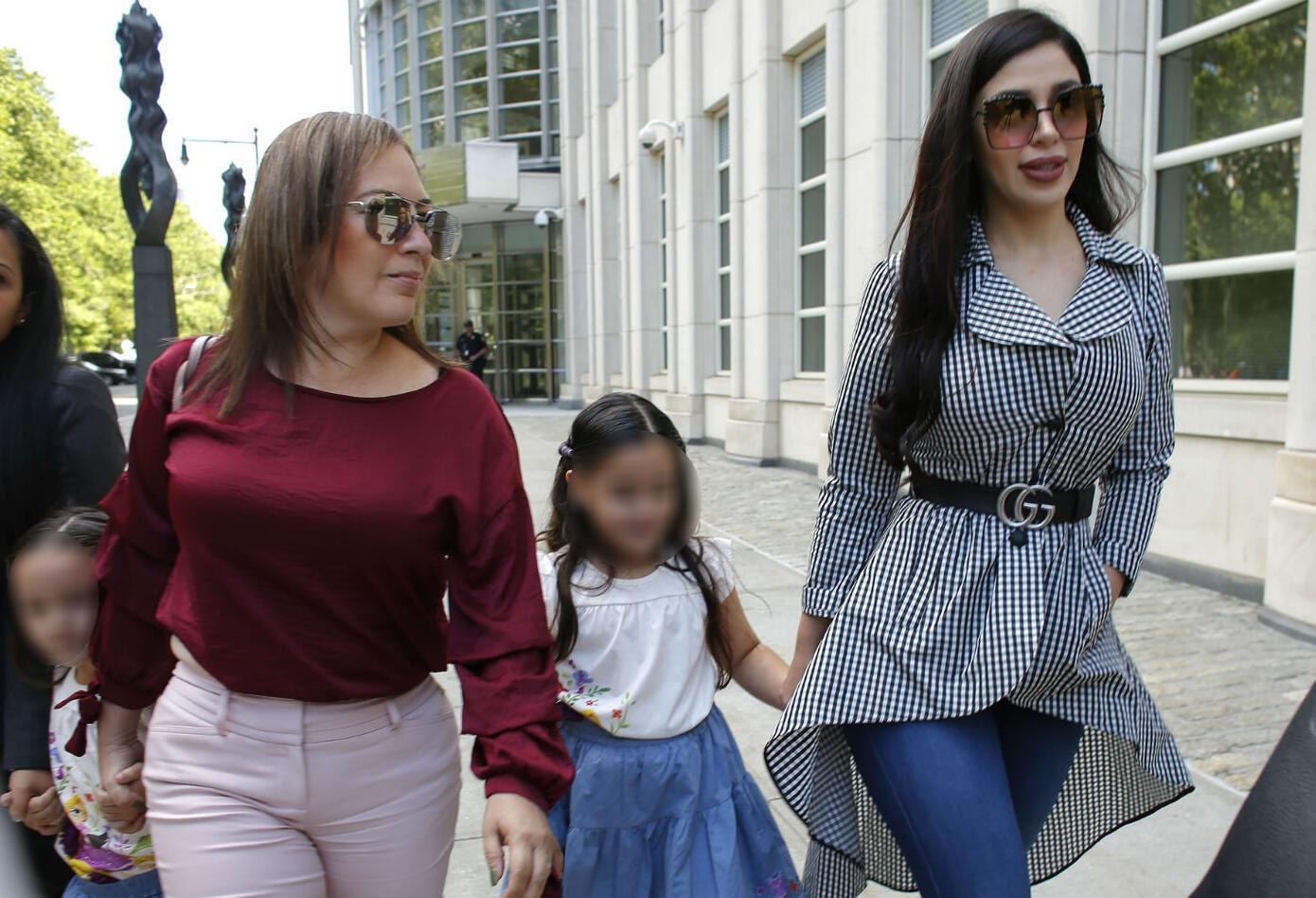 Emma Coronel, esposa de El Chapo Guzmán, tiene dos hijas mellizas con el narco.