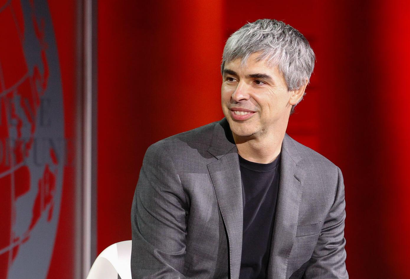 Larry Page, creador de Google