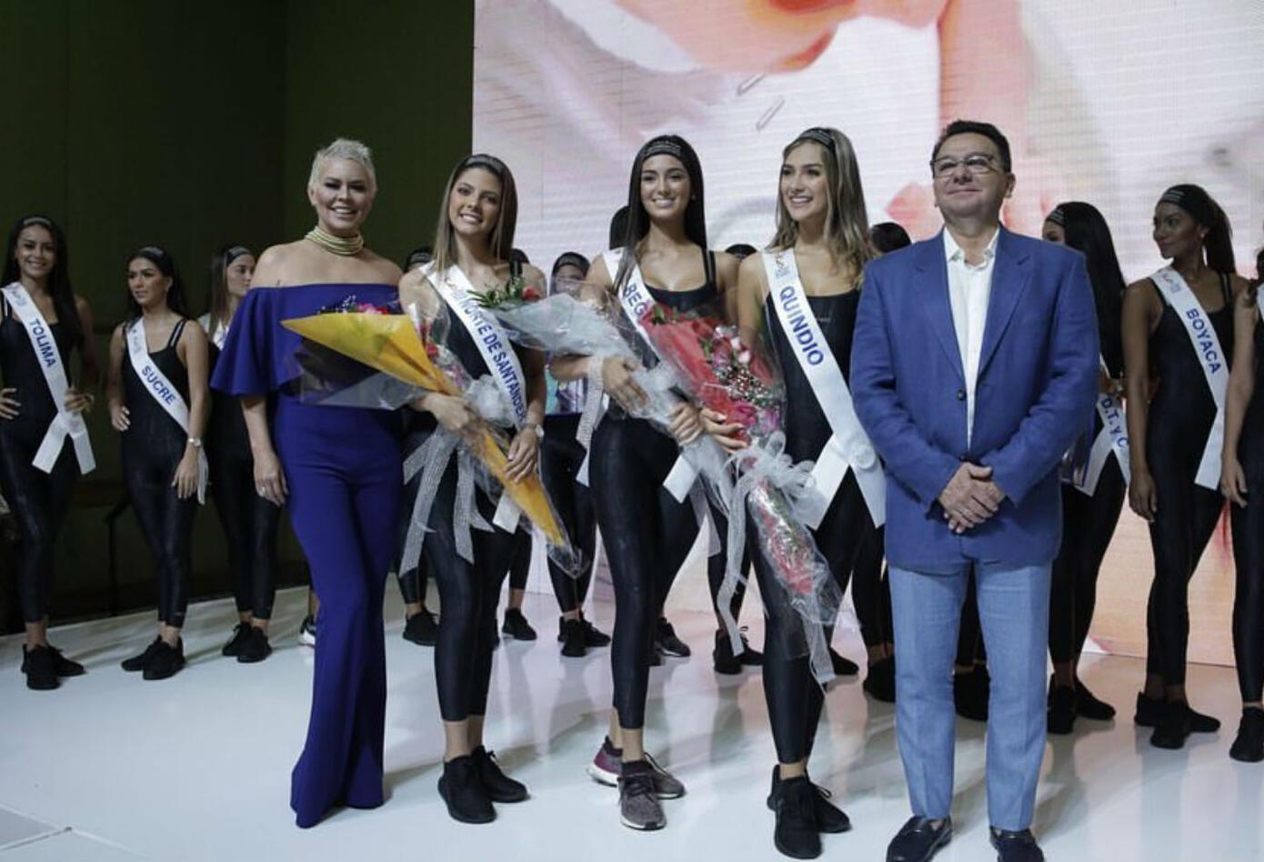Candidatas a Señorita Colombia 2020 finalistas en premio 'Cuerpo sano'