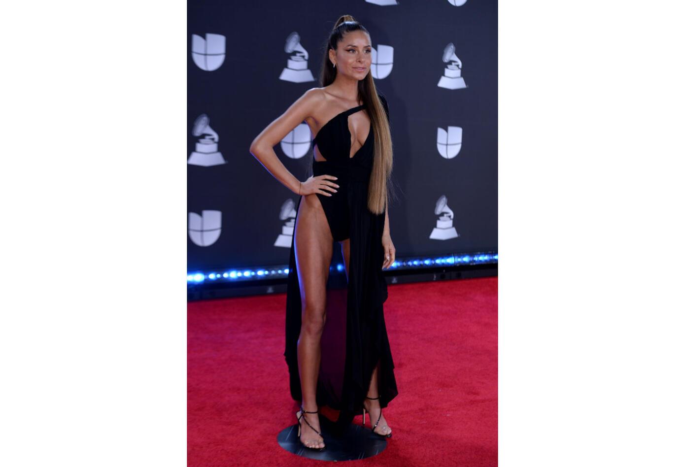 Cami en los Grammy Latinos 2019