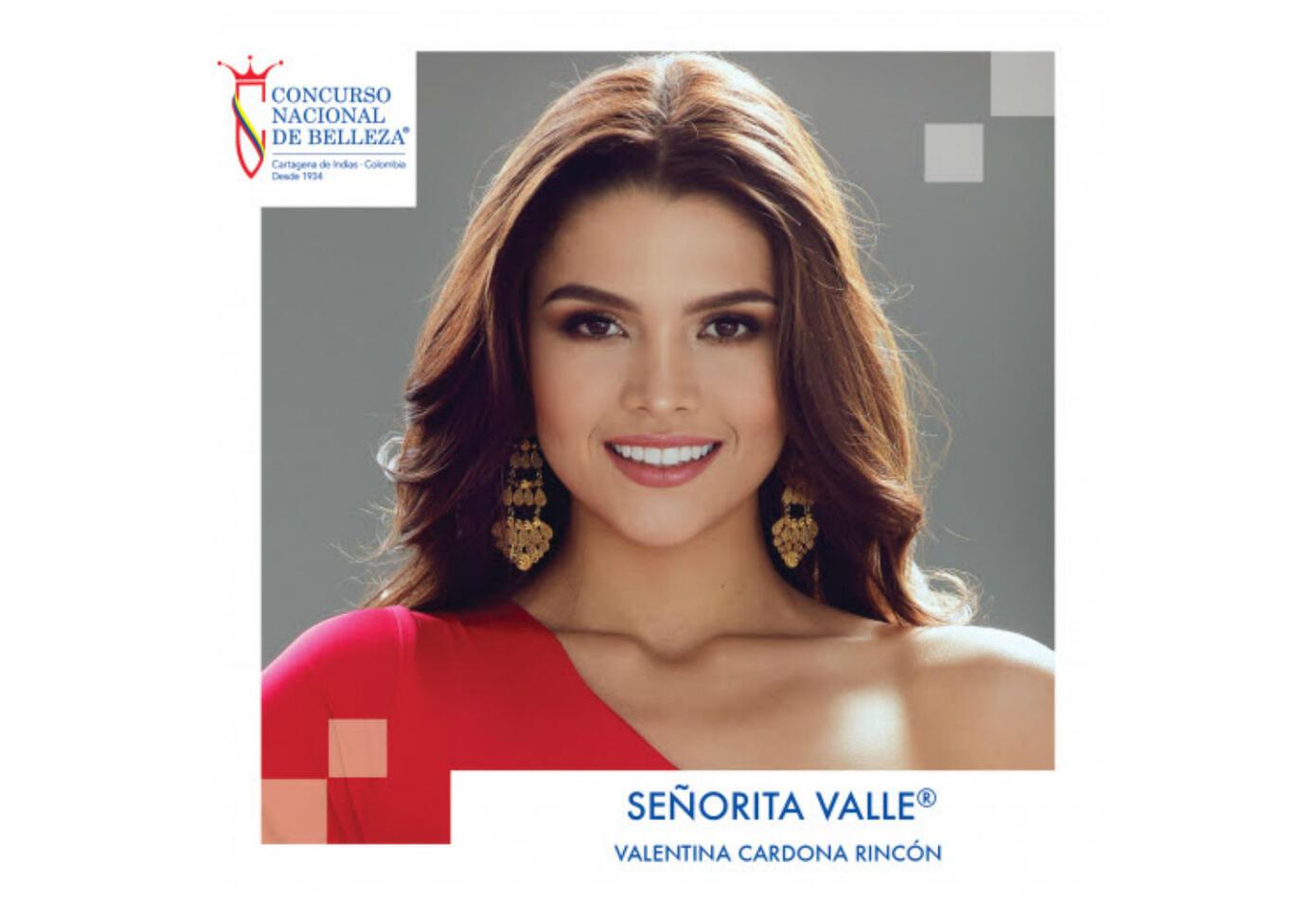 Valentina Cardona, Señorita Valle 2019