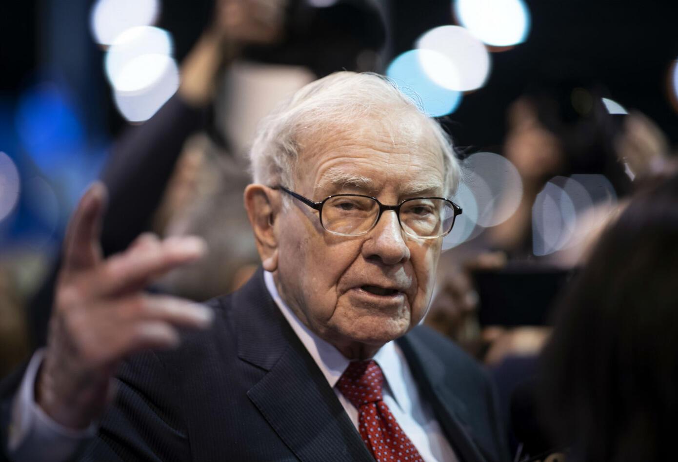 Warren Buffett, presidente de Berkshire Hathaway