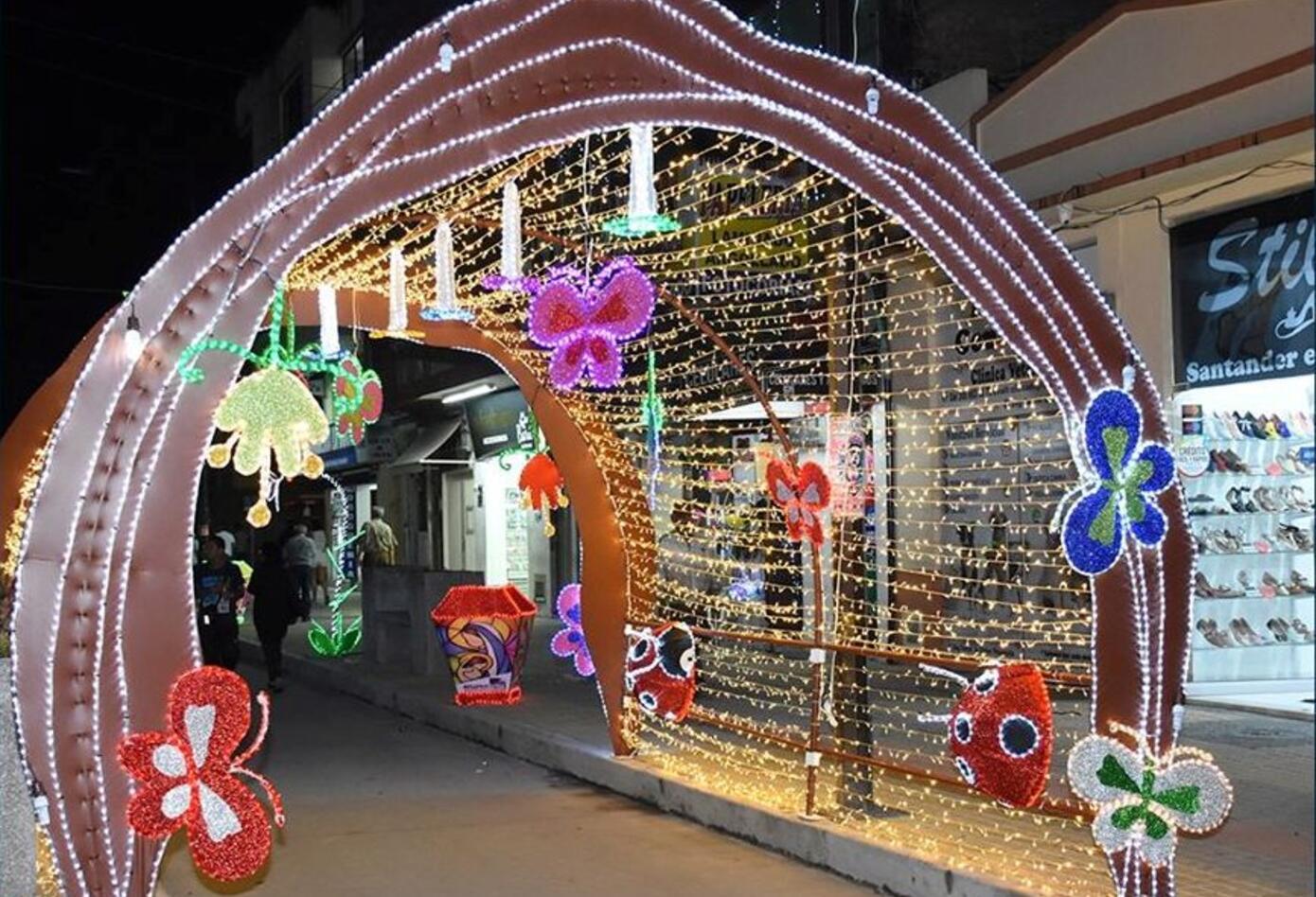 Festival de velas y faroles Quimbaya