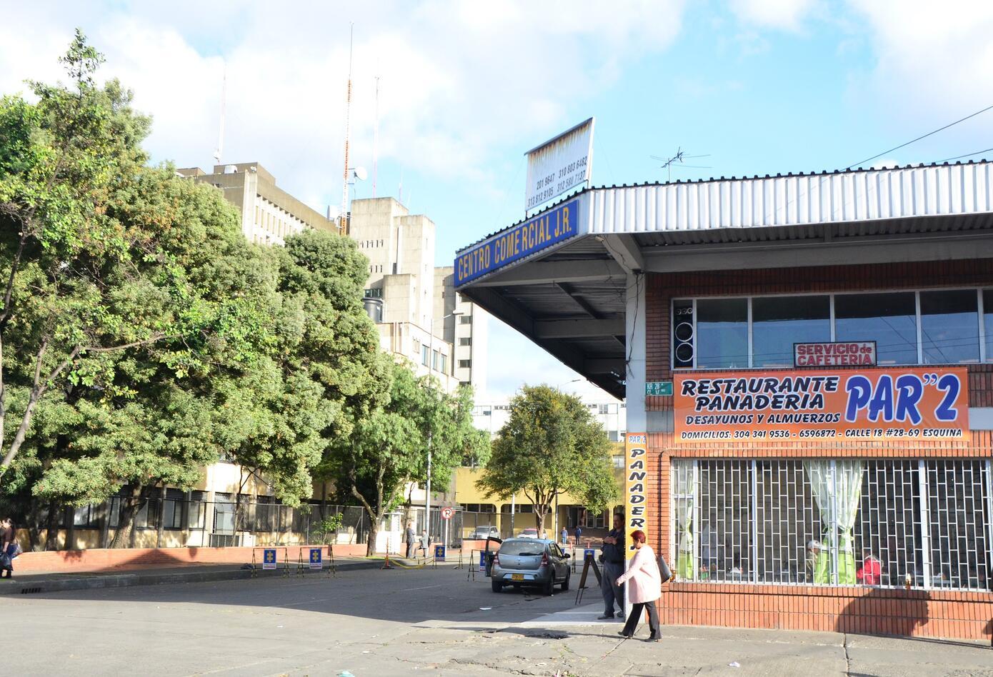 Sector de Paloquemao Edificio DAS