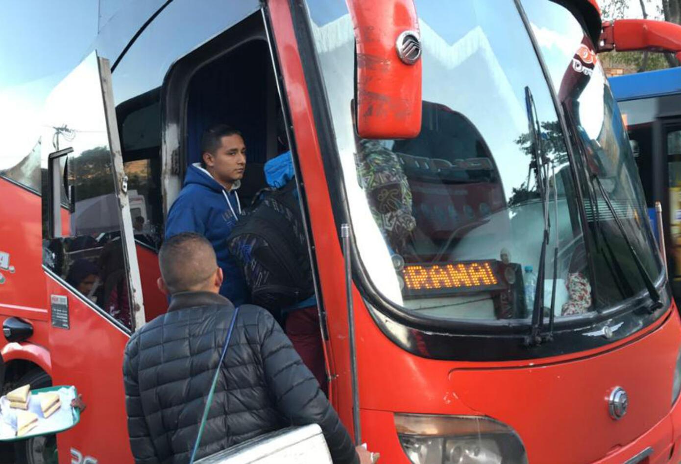 Vía Bogotá - Villavicencio