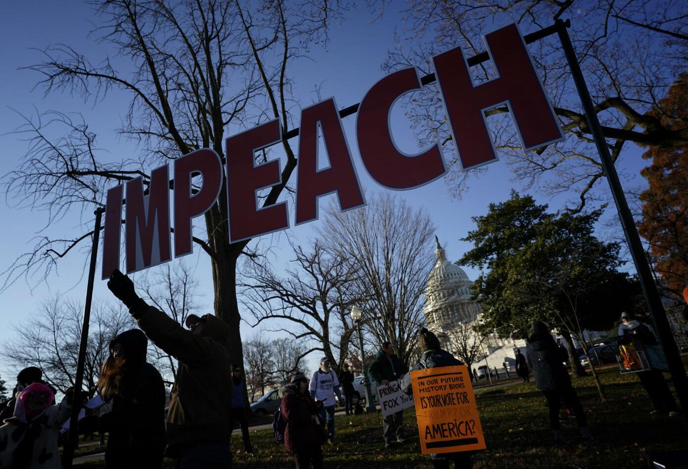 Apoyo a juicio político contra Trump