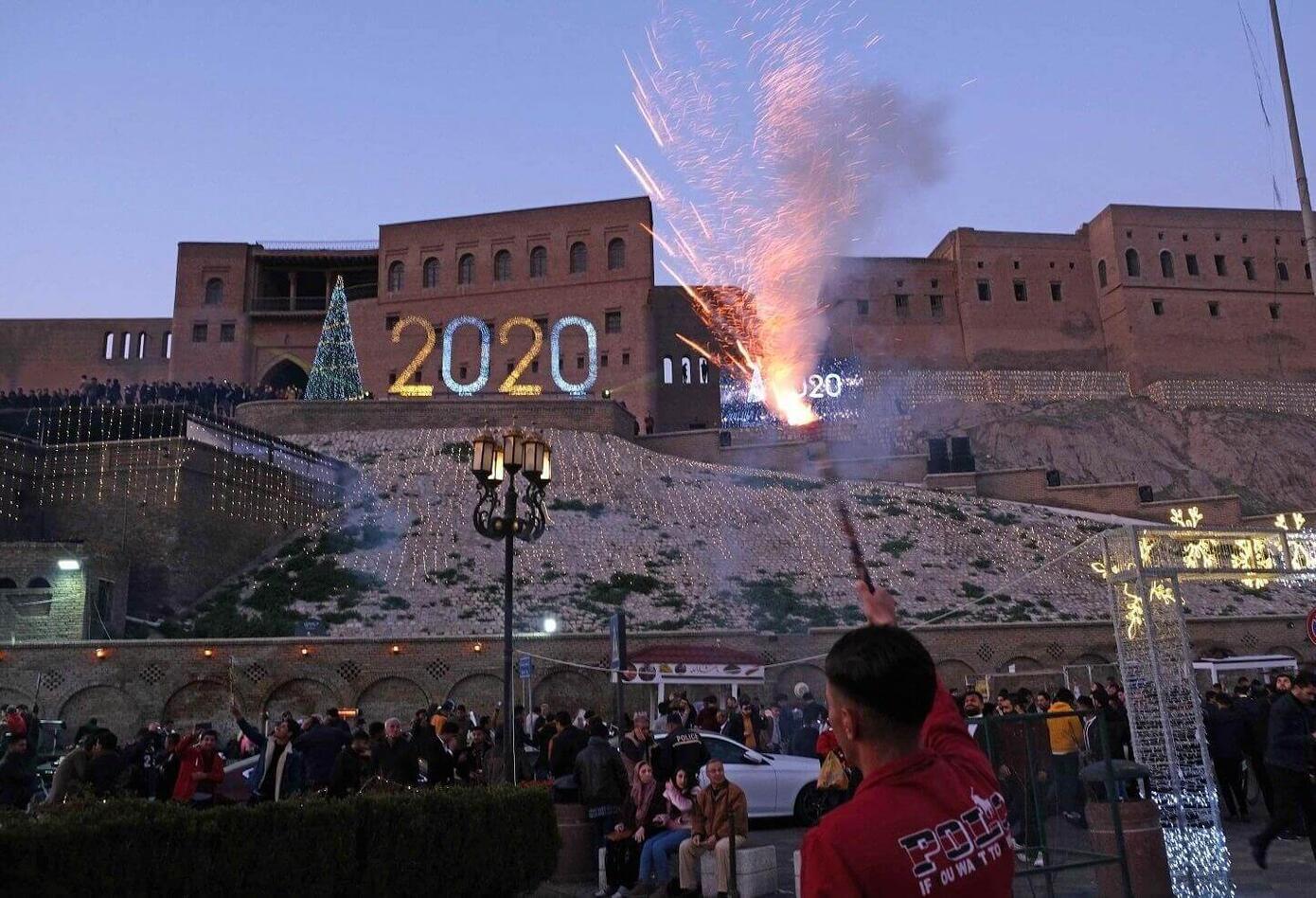 Año Nuevo en Irak