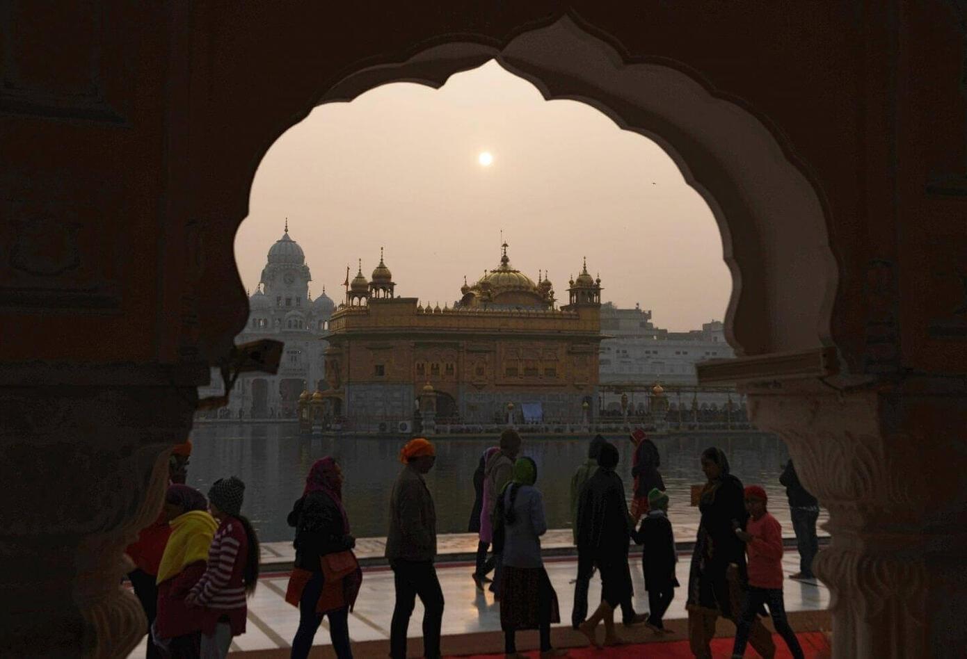 Año Nuevo en Amritsar, India