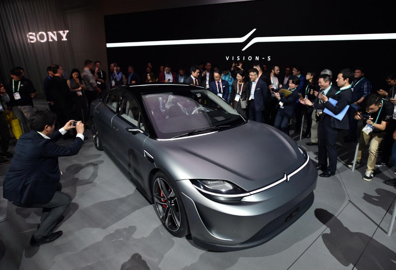 Primer carro eléctrico de Sony