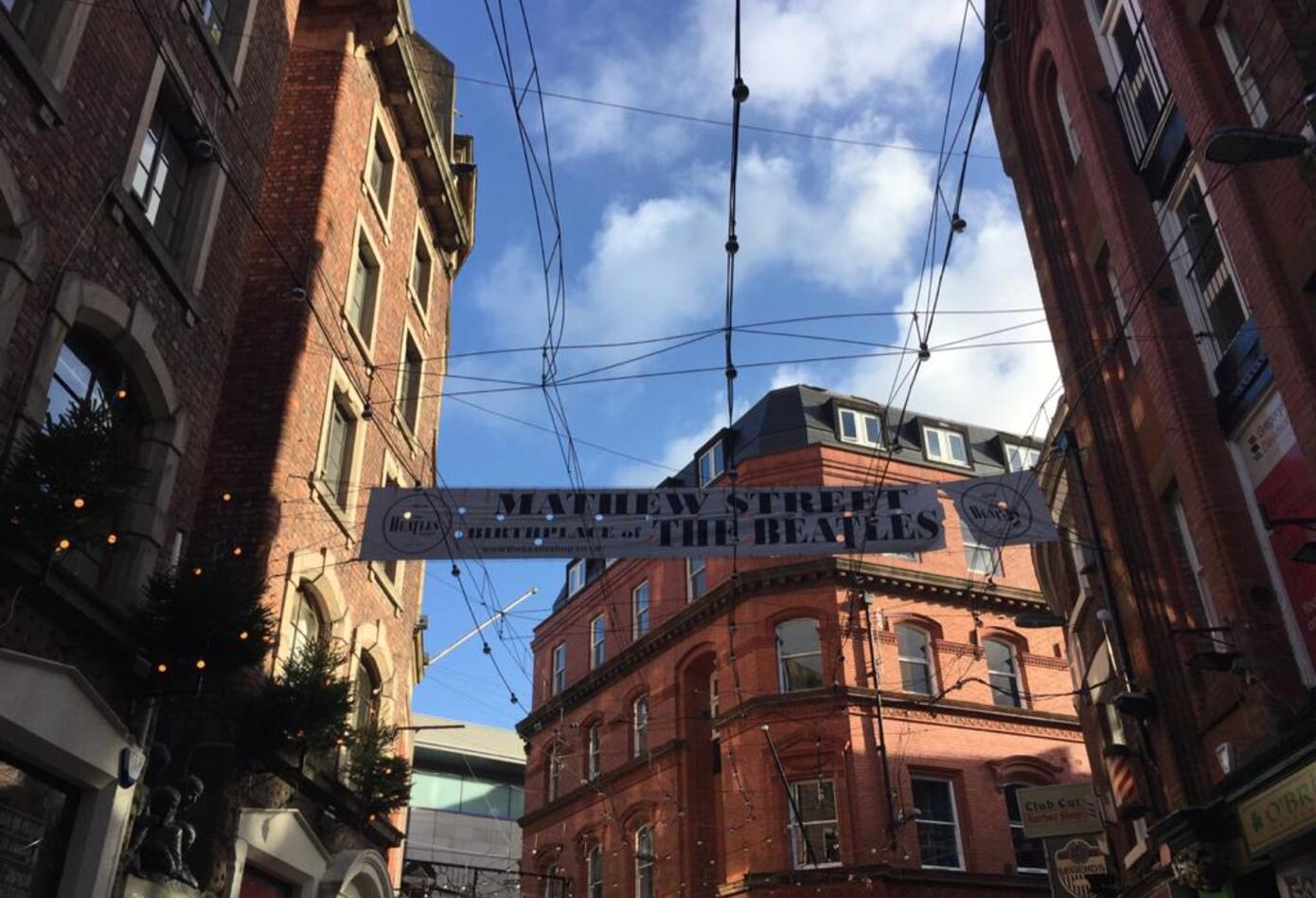 Los Beatles en Liverpool